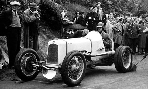 Guy Griffiths in the Spook at Shelsley 1935