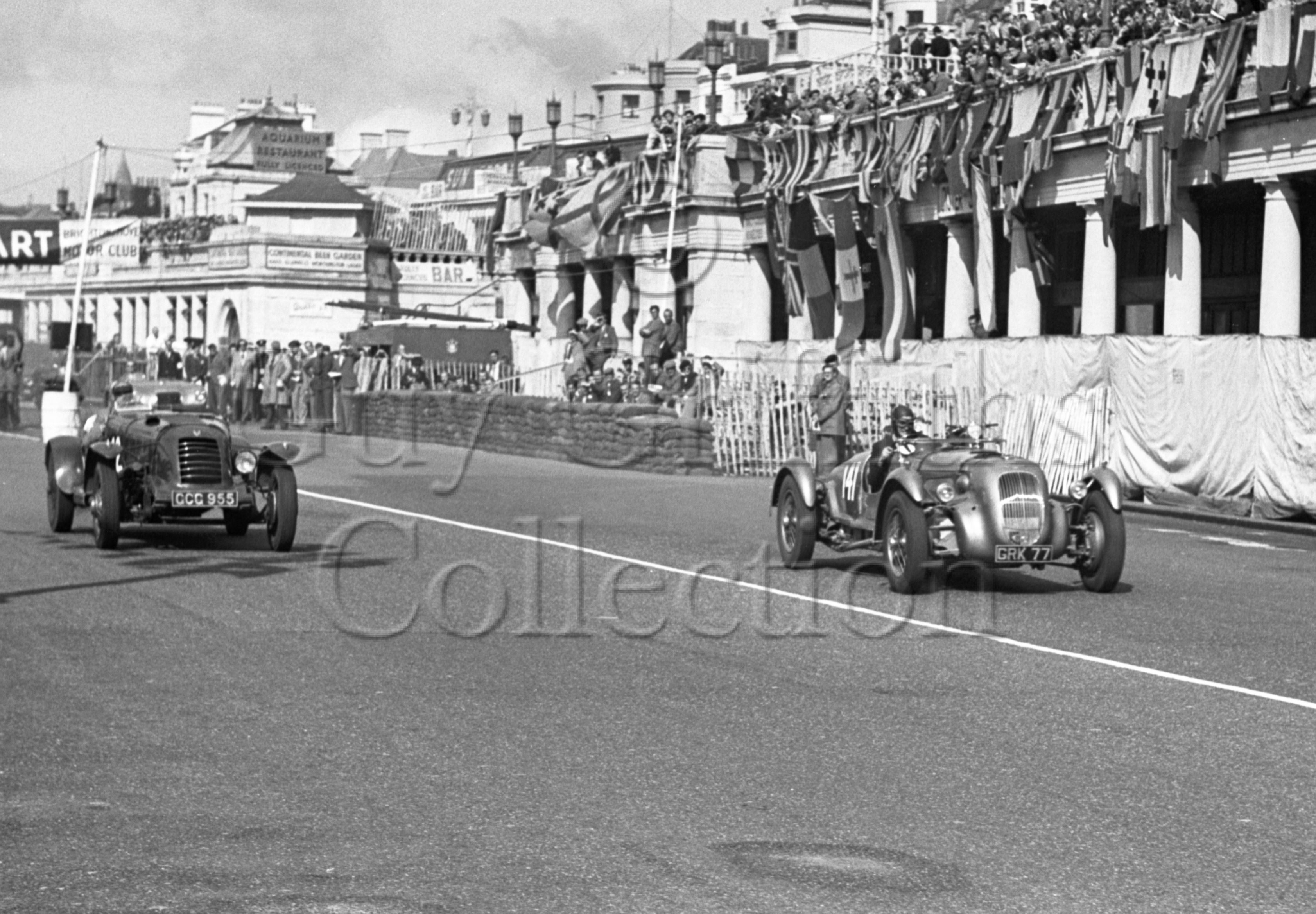 36-256–T-Crook–Lagonda–Brighton-02-09-1950.jpg - The Guy Griffiths Collection