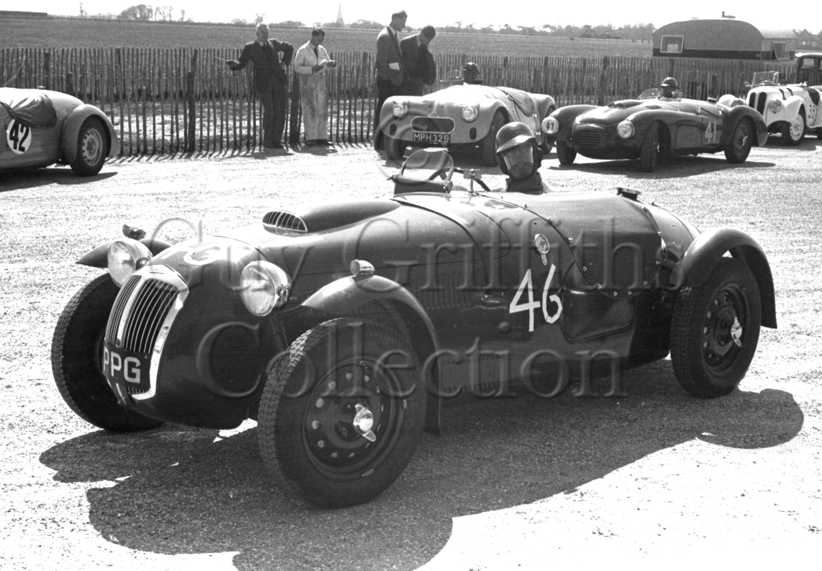 41-621–T-Crook–Frazer-Nash–Goodwood–21-04-1951.jpg - The Guy Griffiths Collection
