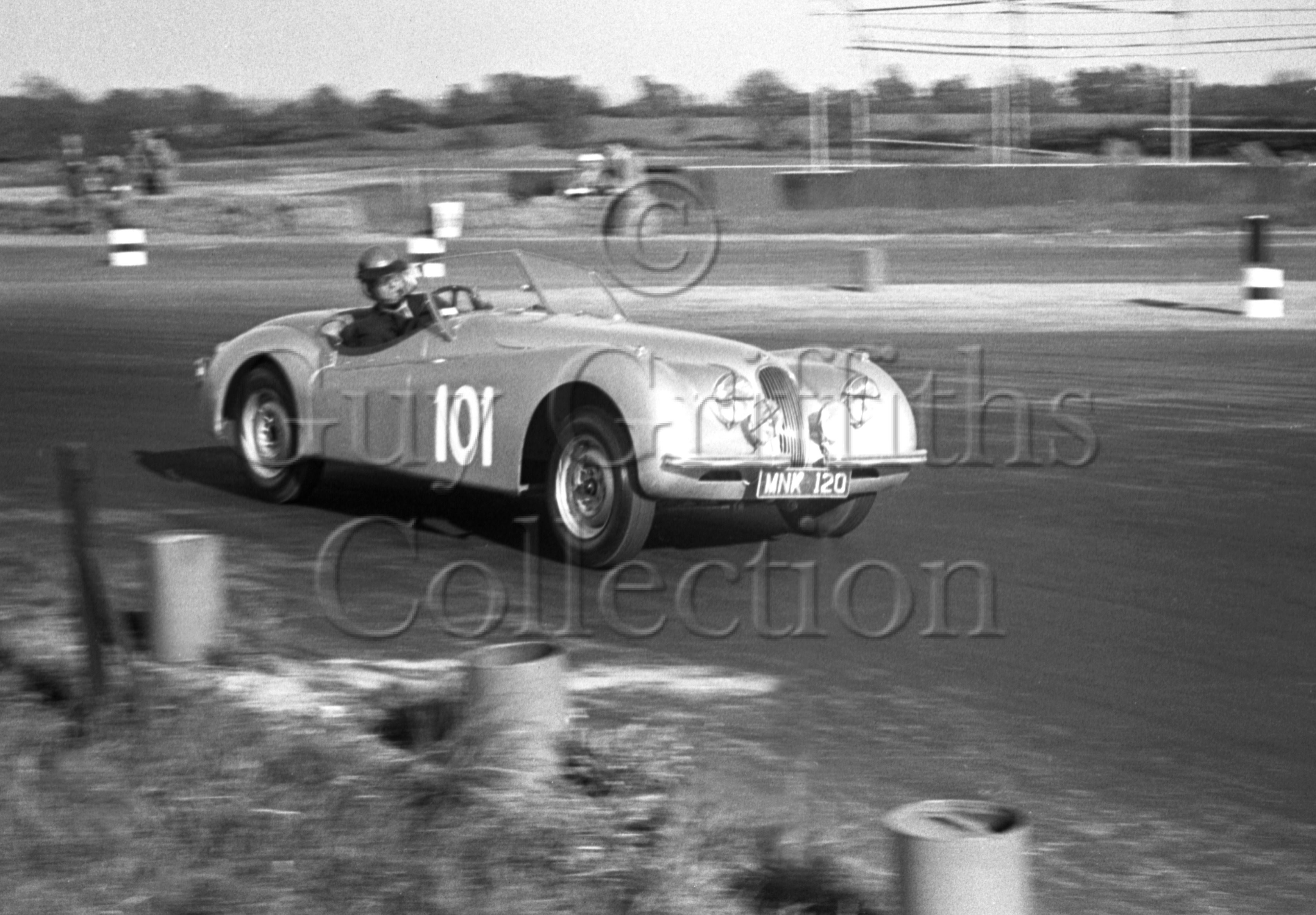 44-903–D-Russell–Jaguar–Silverstone–02-06-1951.jpg - The Guy Griffiths Collection