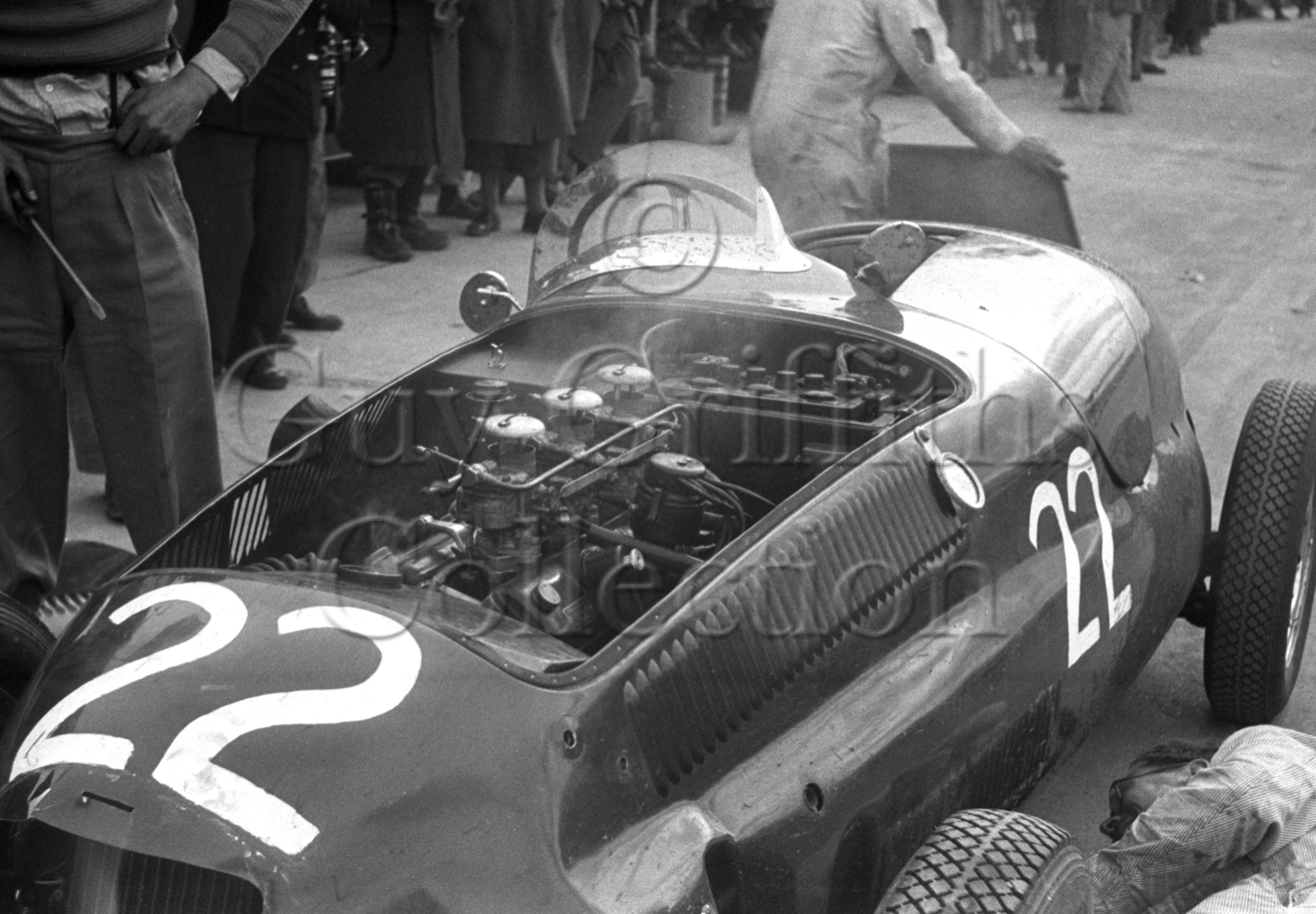 54-294–T-Crook–Frazer-Nash–Silverstone–10-05-1952.jpg - The Guy Griffiths Collection