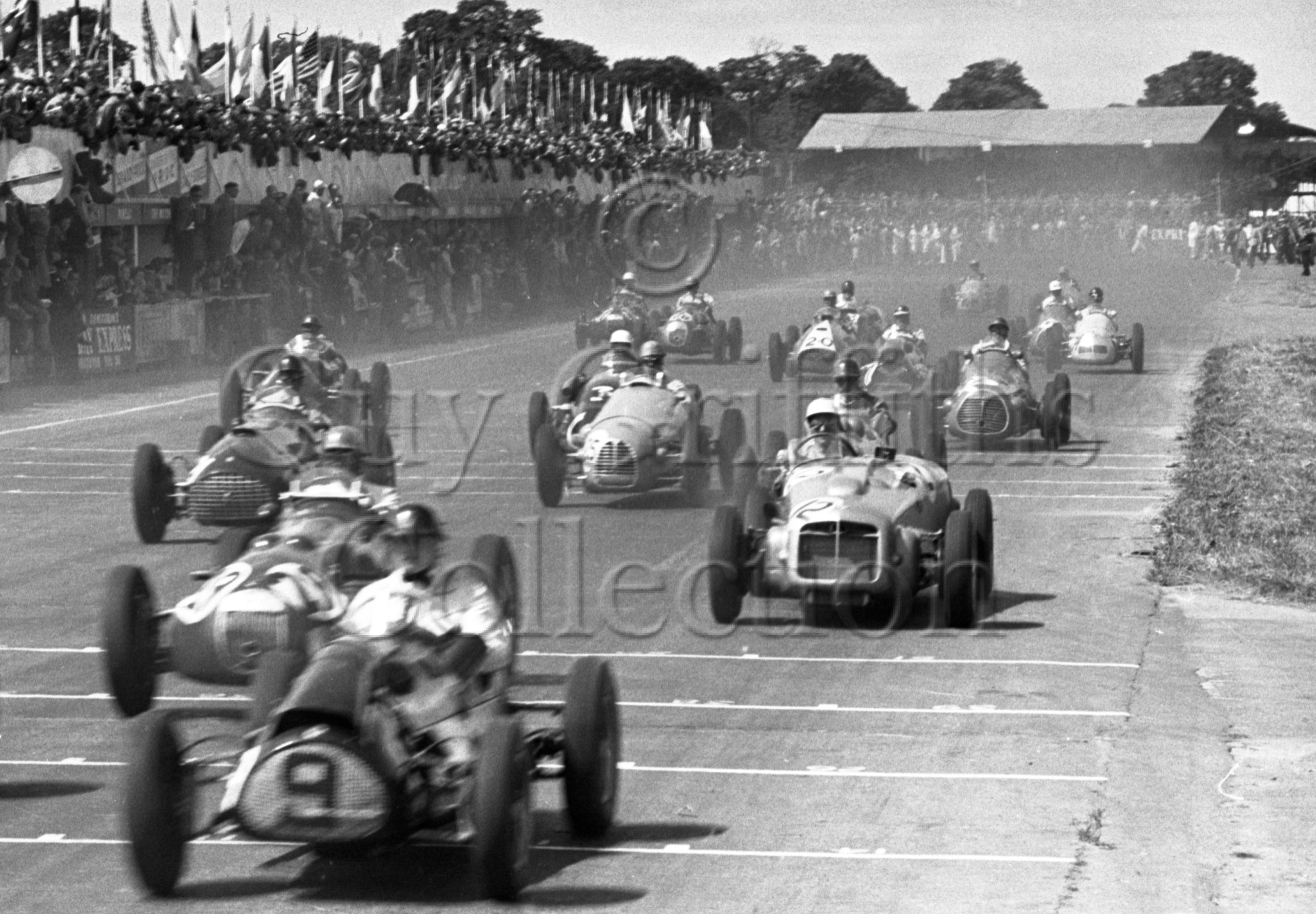 57-865–S-Moss–ERA–Silverstone–19-07-1952.jpg - The Guy Griffiths Collection