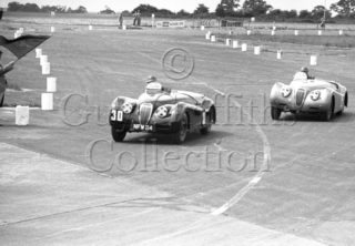 70-615–D-S-Boston–Jaguar–Snetterton–30-05-1953.jpg - The Guy Griffiths Collection