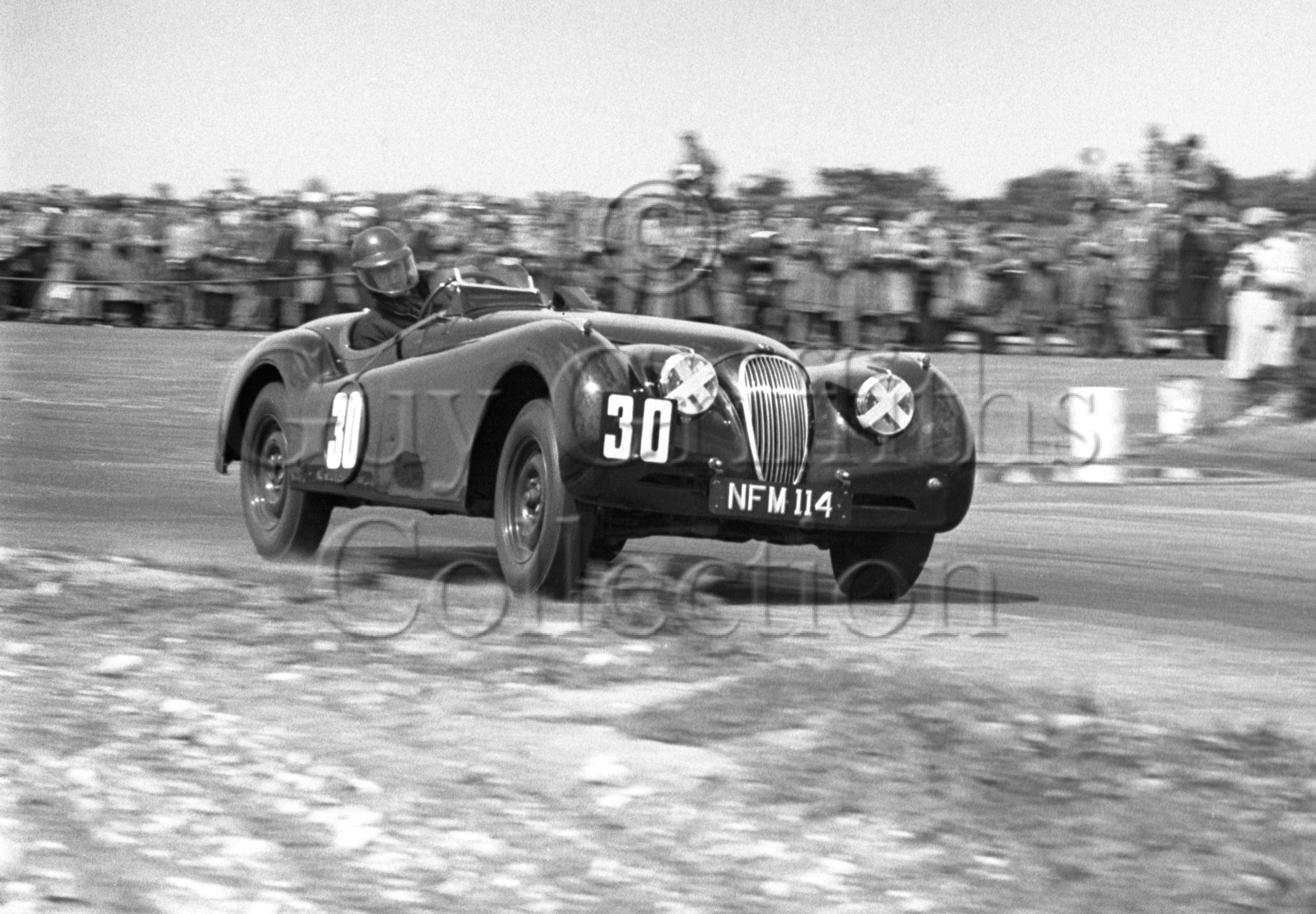 70-631–D-S-Boston–Jaguar–Snetterton–30-05-1953.jpg - The Guy Griffiths Collection