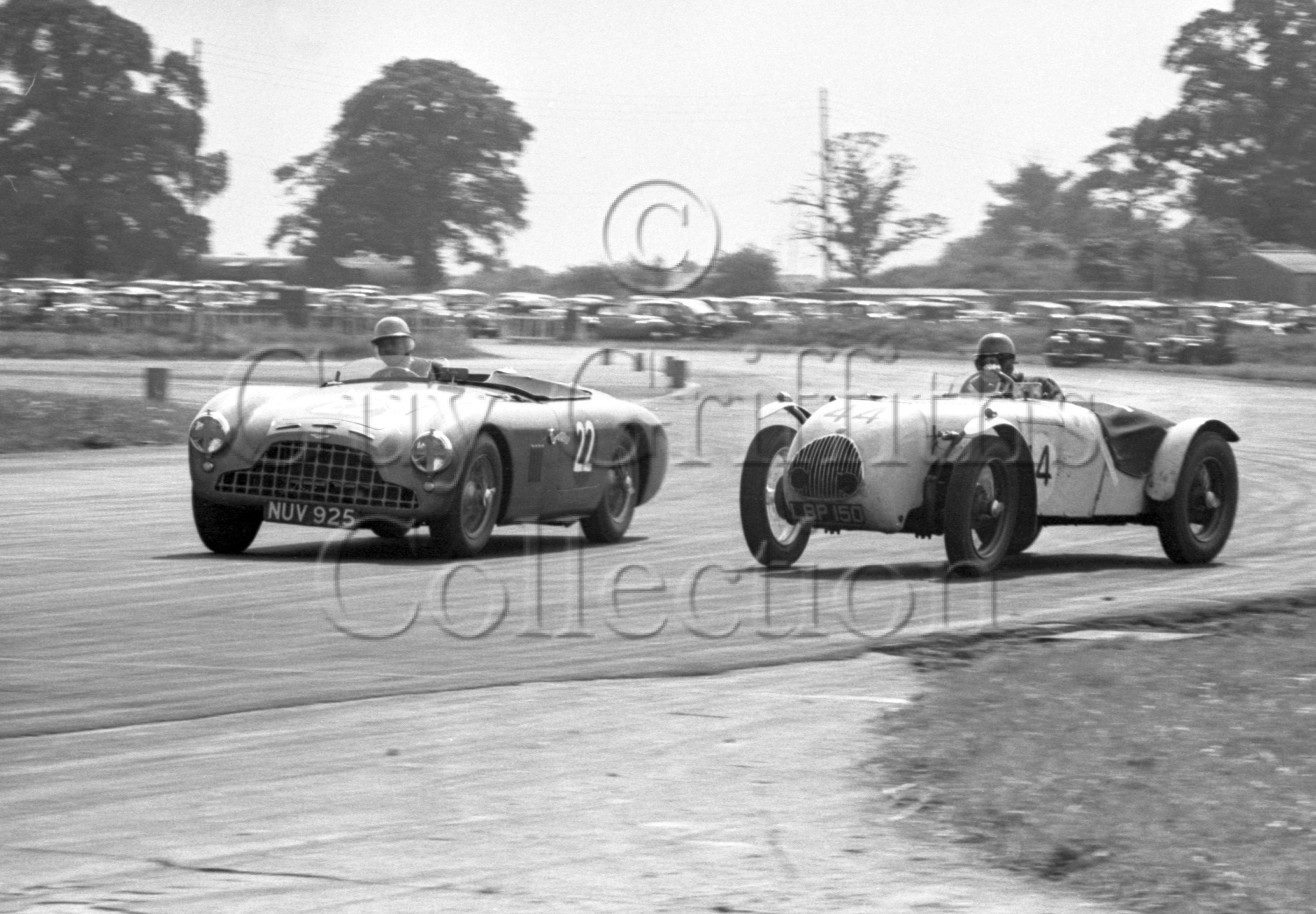 72-394–K-Downing–Aston-Martin-DB3–Silverstone–27-06-1953.jpg - The Guy Griffiths Collection
