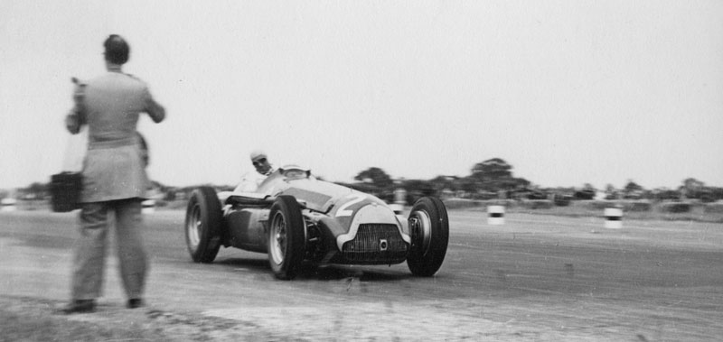 Fangio at Silverstone