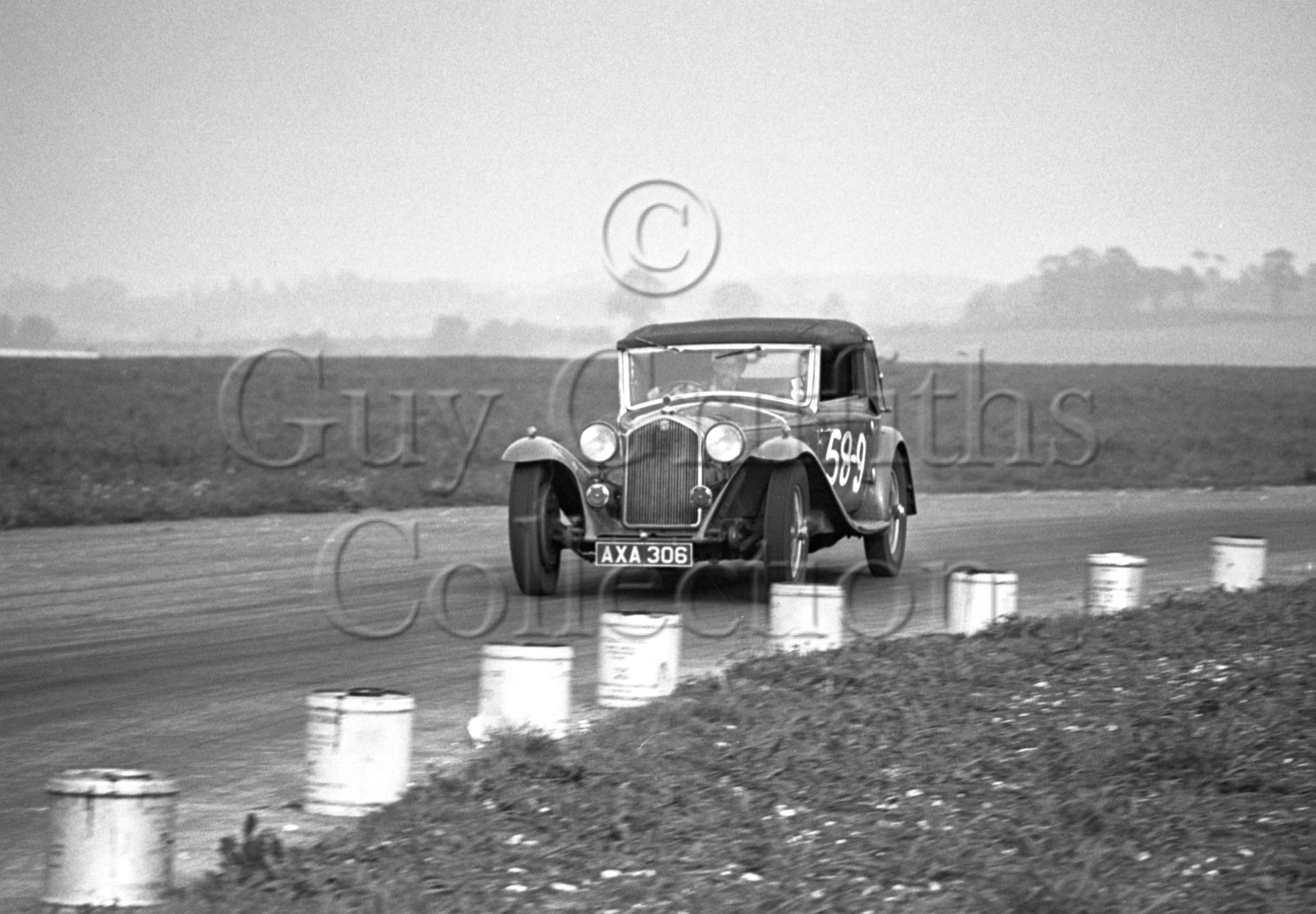 29-573–B-A-Henry–Alfa-Romeo–Gravesend–07-05-1950.jpg - The Guy Griffiths Collection