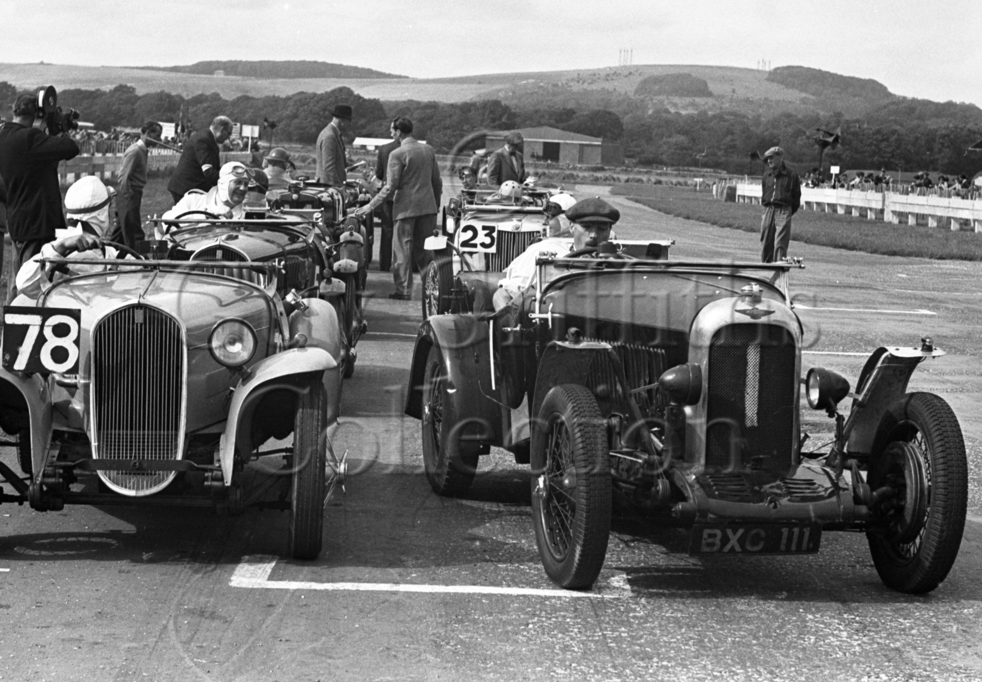 35-156–H-Lumb–Rapier–Goodwood–12-08-1950.jpg - The Guy Griffiths Collection