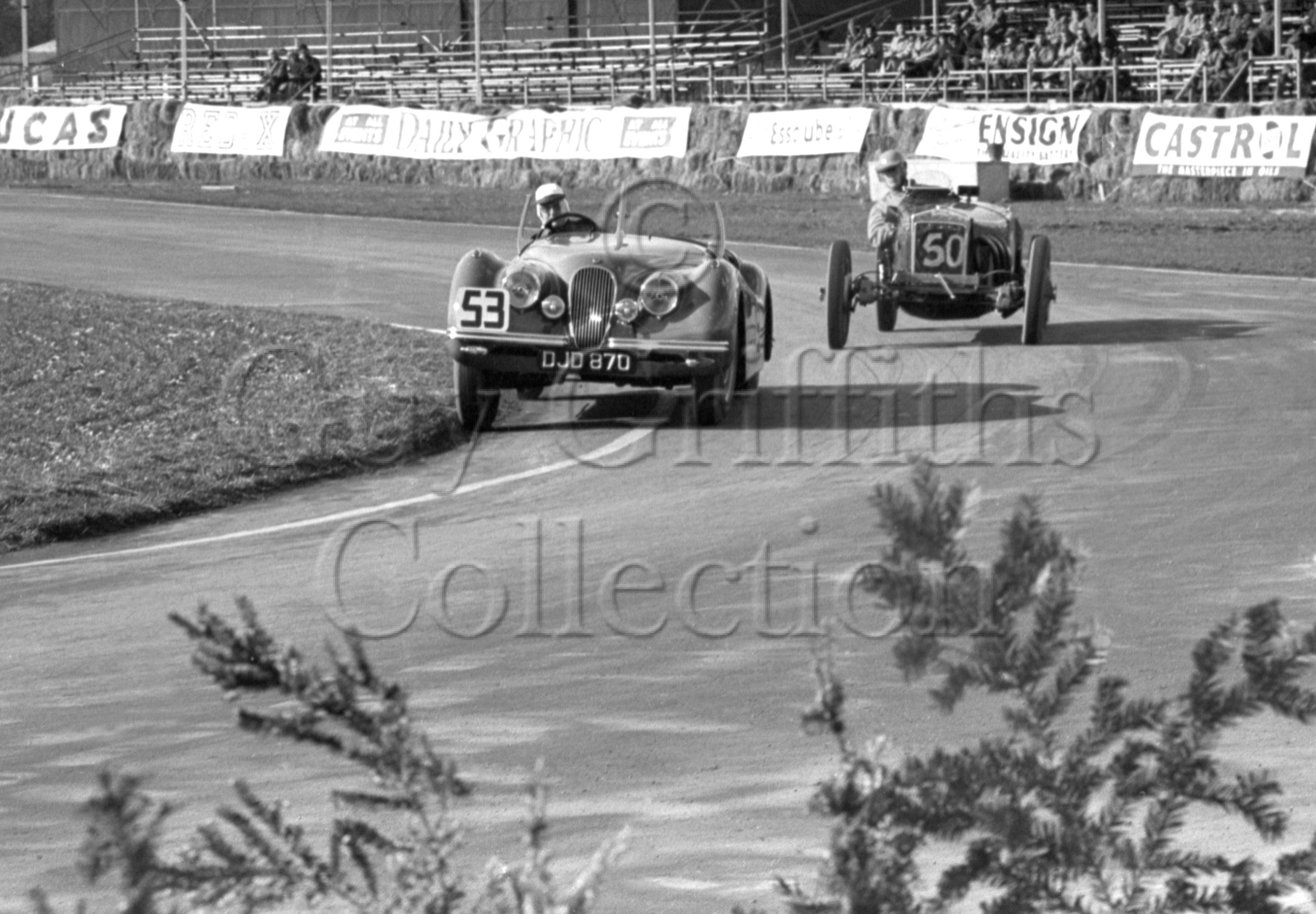 39-532–J-Rockman–Jaguar–Goodwood–26-03-1951.jpg - The Guy Griffiths Collection