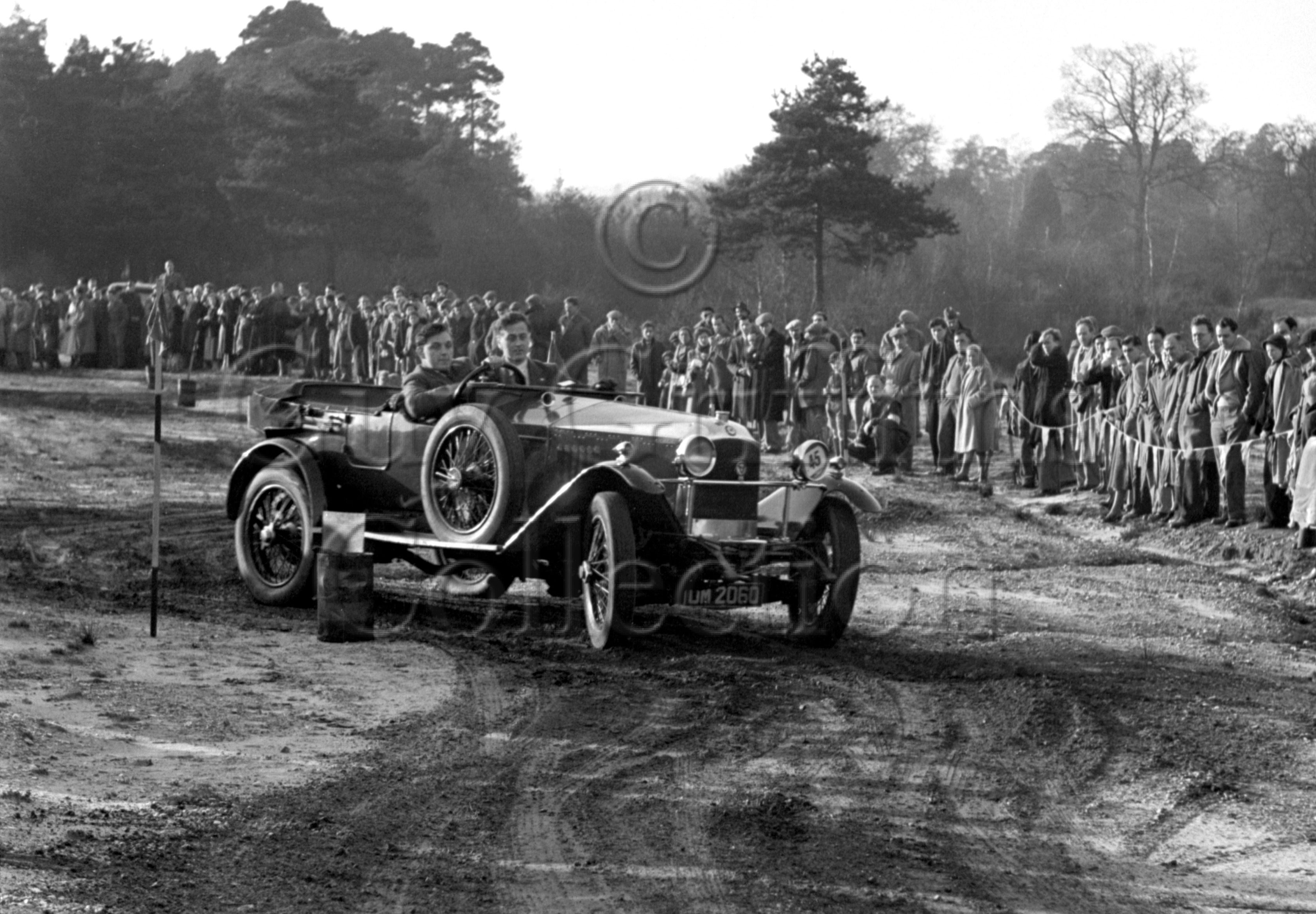 49-871–A-Archer–Vauxhall–Bisley–02-12-1951.jpg - The Guy Griffiths Collection