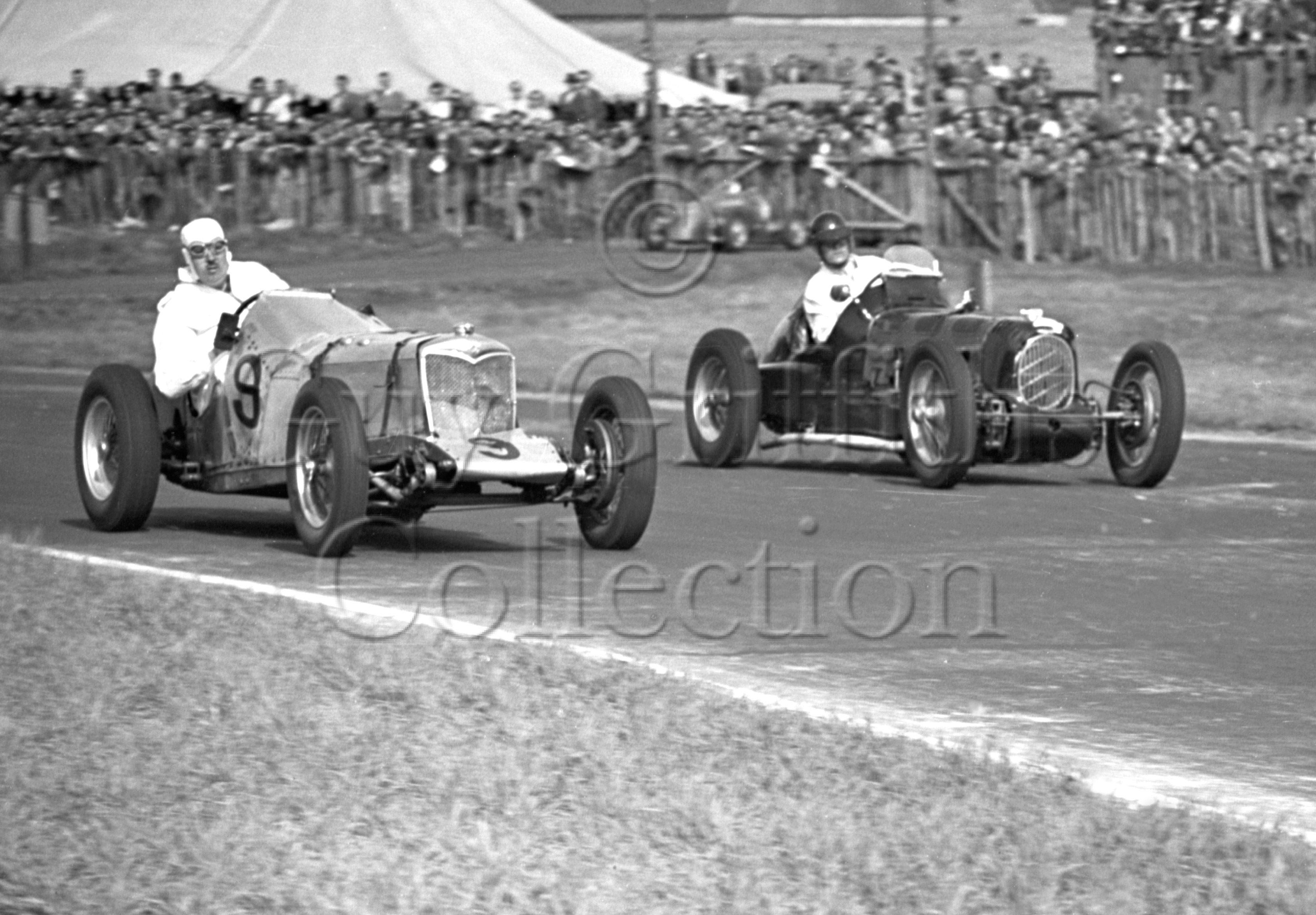 12-525–W-G-Bingley–Aston-Martin—H-J-Ripley–Riley—Goodwood–18-04-1949.jpg - The Guy Griffiths Collection