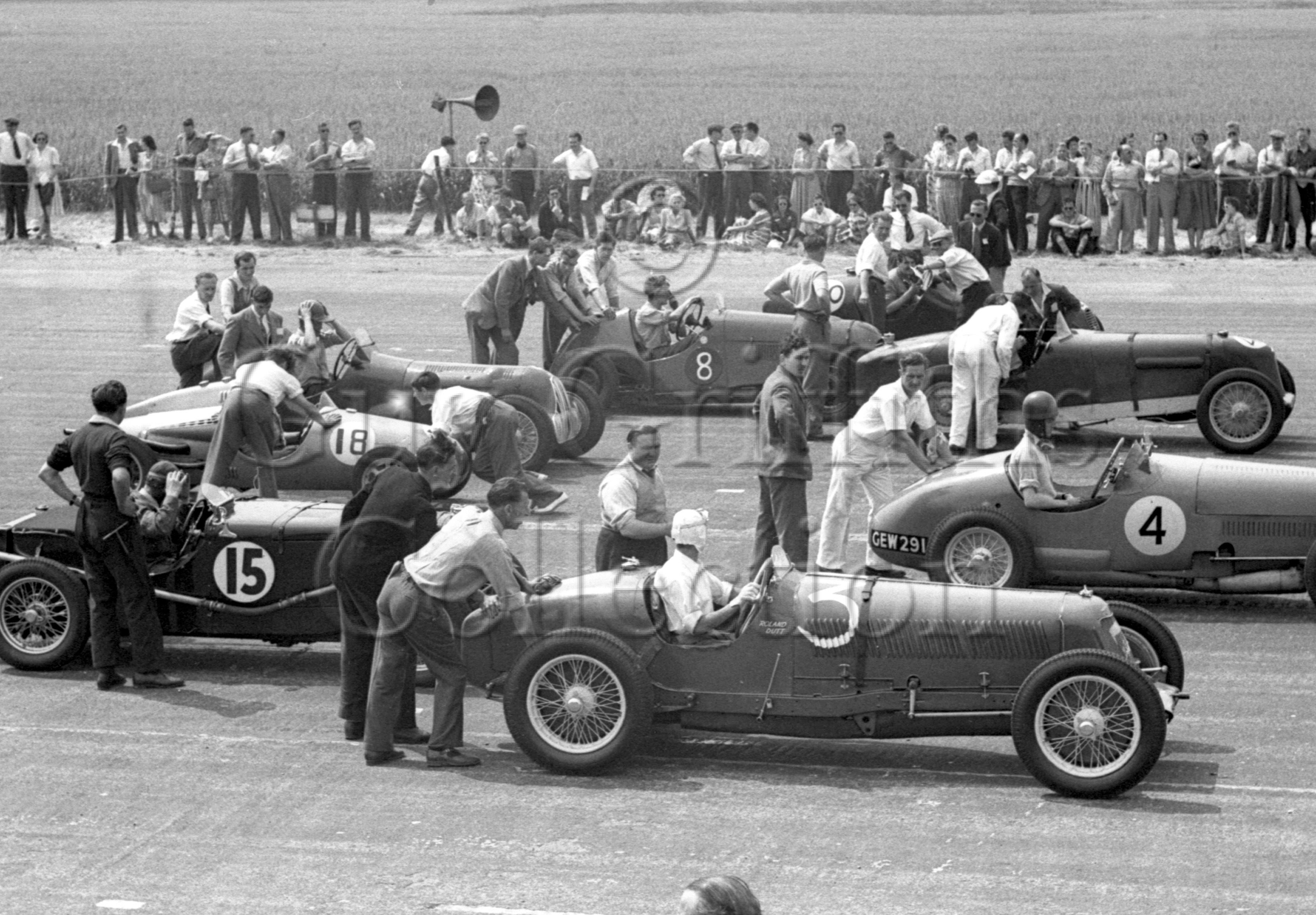 18-71–R-Dutt–Maserati–Silverstone–02-07-1949.jpg - The Guy Griffiths Collection