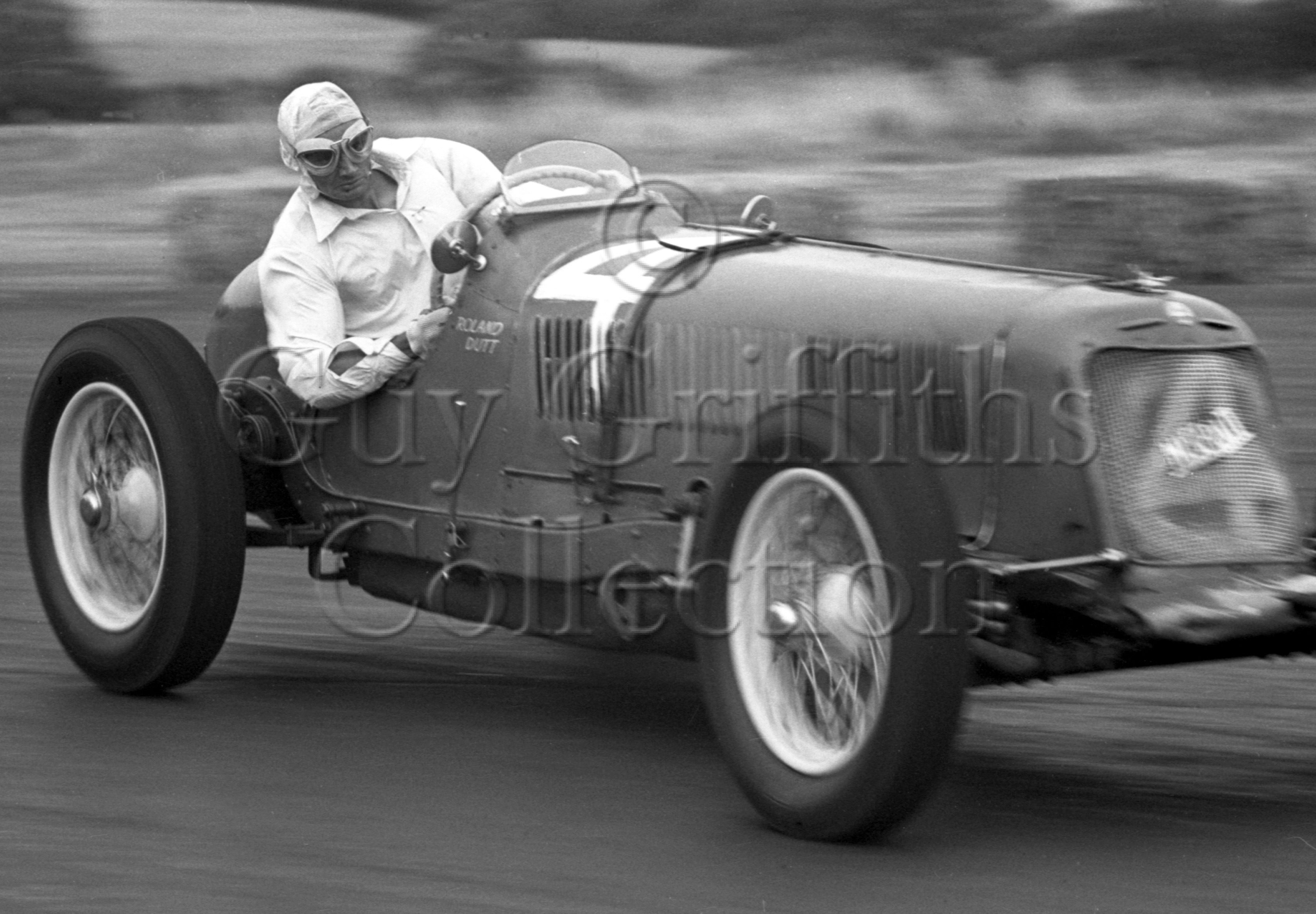 20-255–R-Dutt–Maserati–Silverstone–30-07-1949.jpg - The Guy Griffiths Collection