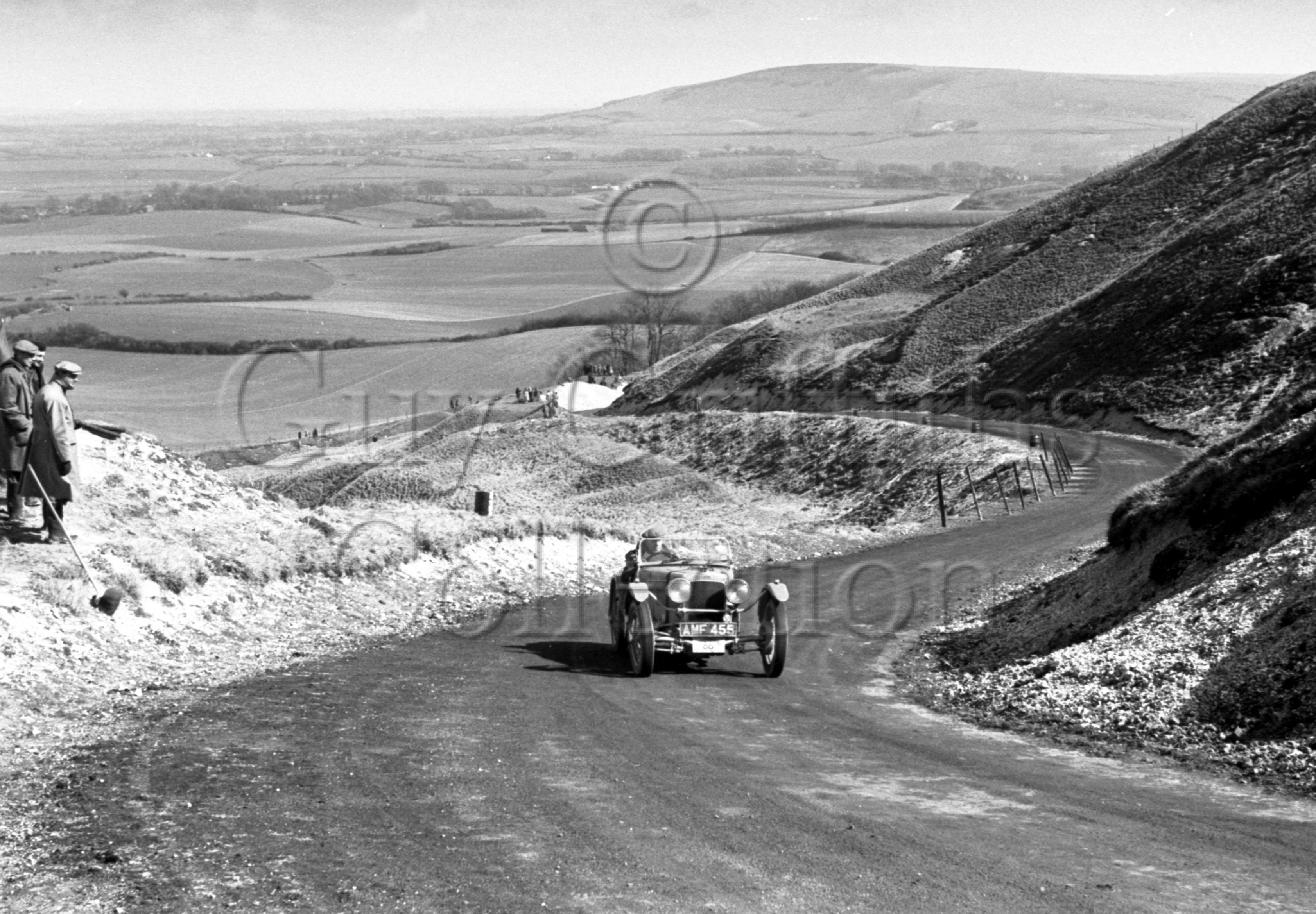 39-901–B-E-Brown–Frazer-Nash–BDC-Eastbourne-Rally–30-03-1951.jpg - The Guy Griffiths Collection