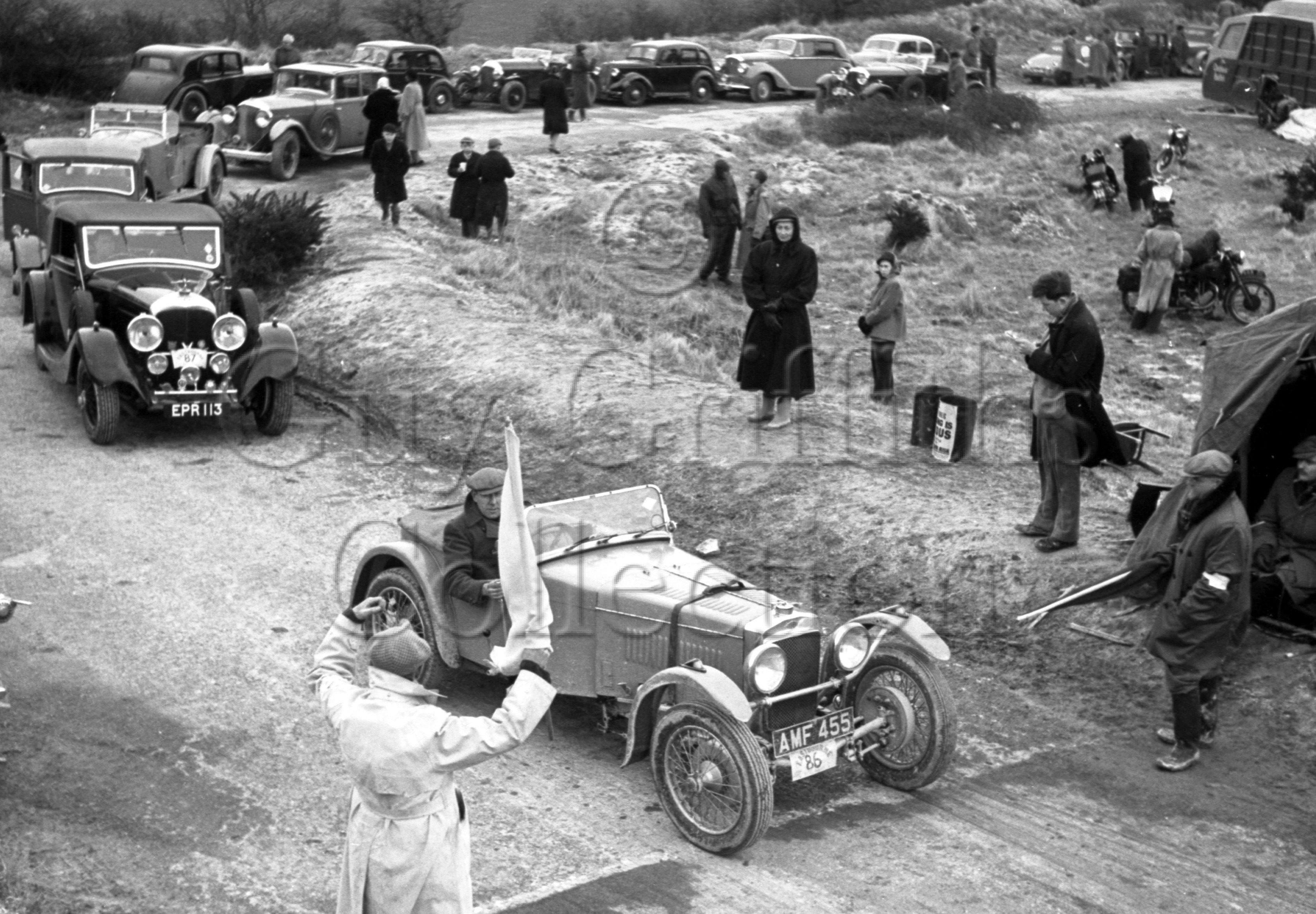 40-63–B-E-Brown–Frazer-Nash–BDC-Eastbourne-Rally–30-03-1951.jpg - The Guy Griffiths Collection