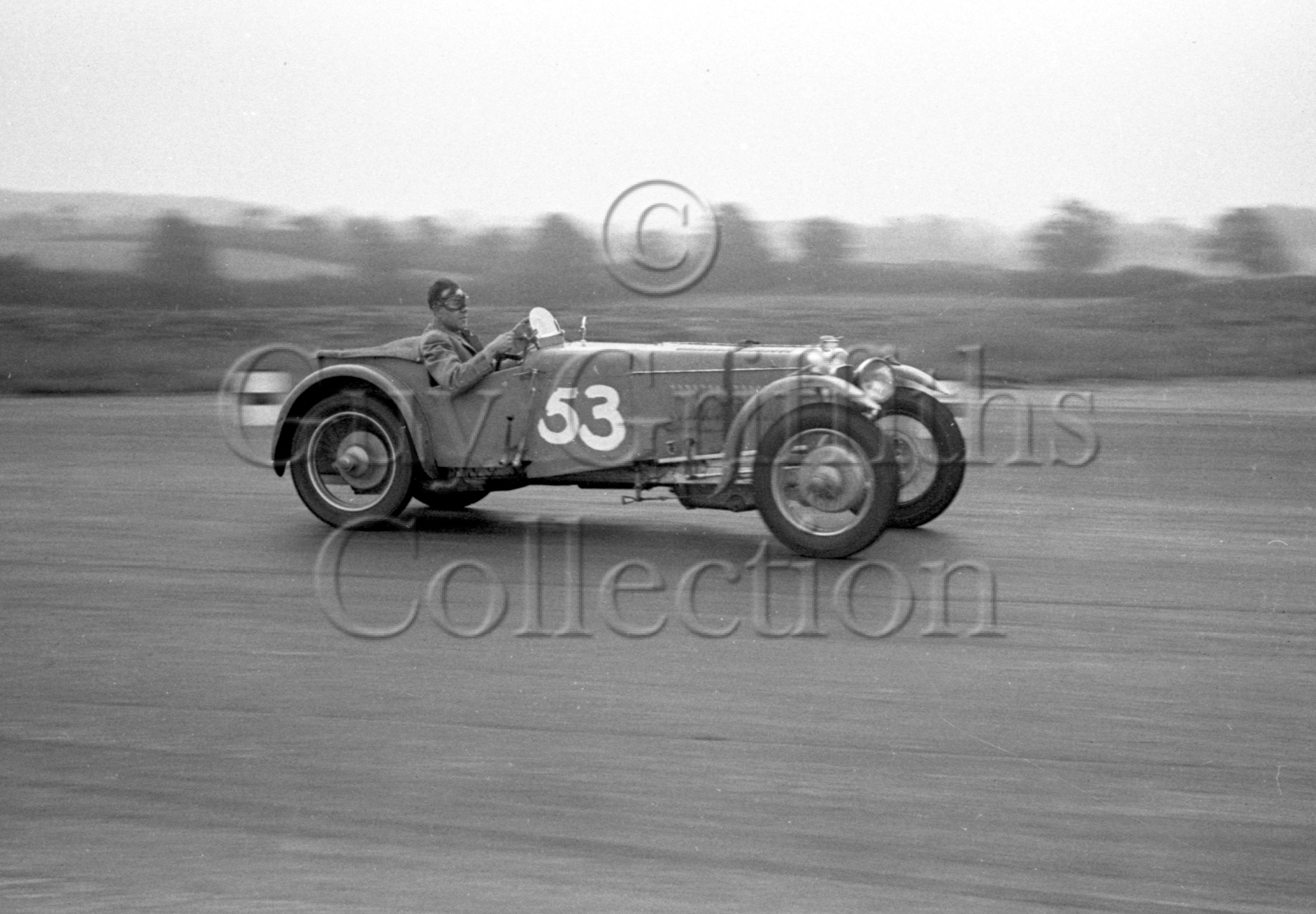 46-476–B-E-Brown–Frazer-Nash–Silverstone–23-06-1951.jpg - The Guy Griffiths Collection