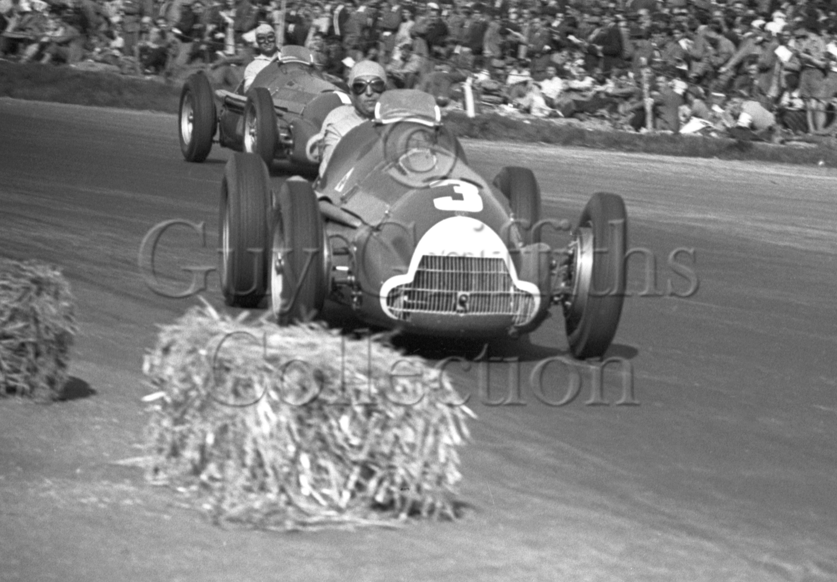 30-133–C-Fagioli–J-Fangio–Alfa-Romeo-158–Silverstone–13-05-1950.jpg - The Guy Griffiths Collection