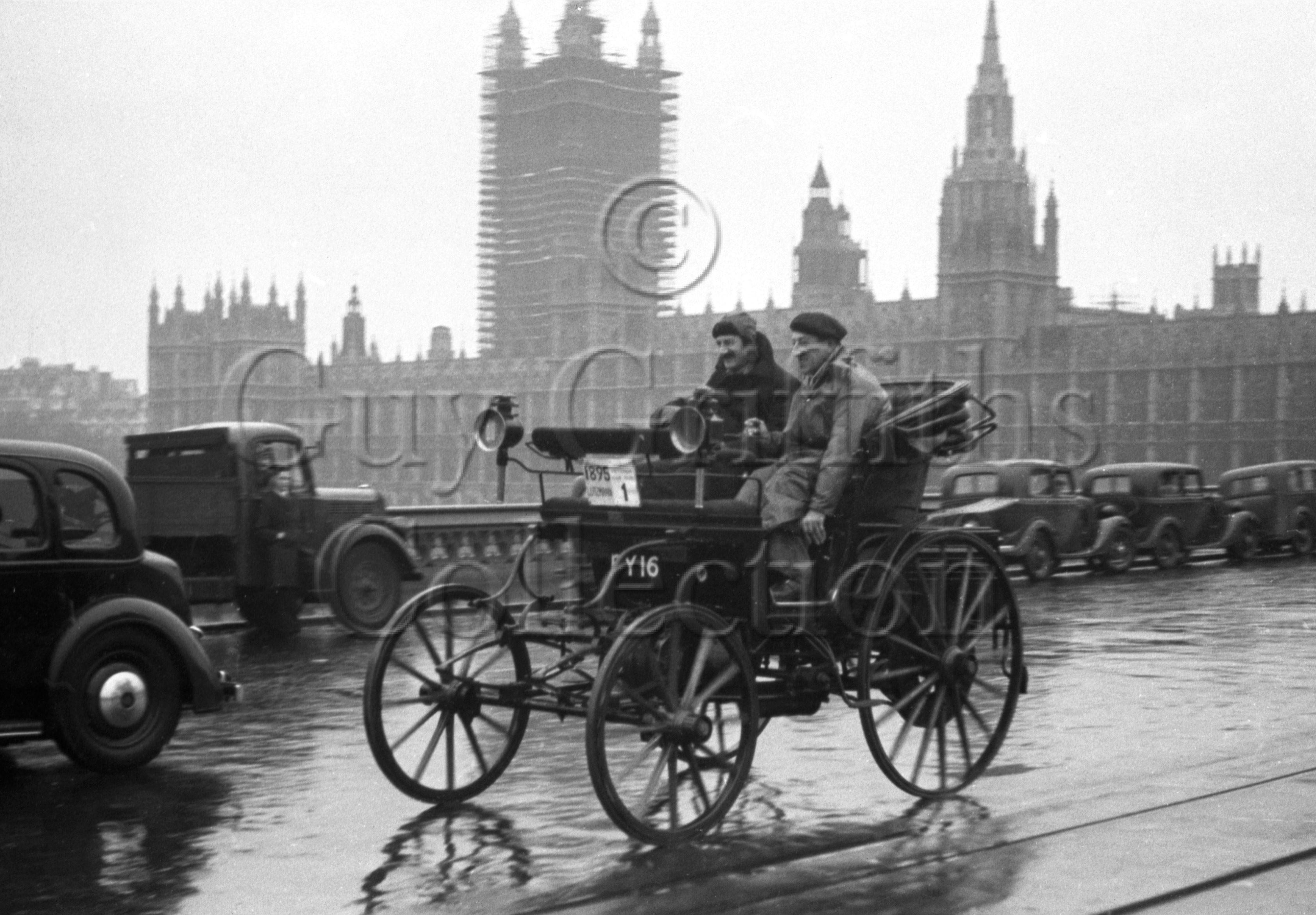 49-396–E-K-H-Karslake–E-S-Berry–Lutzmann-1895–London-to-Brighton–18-11-1951.jpg - The Guy Griffiths Collection