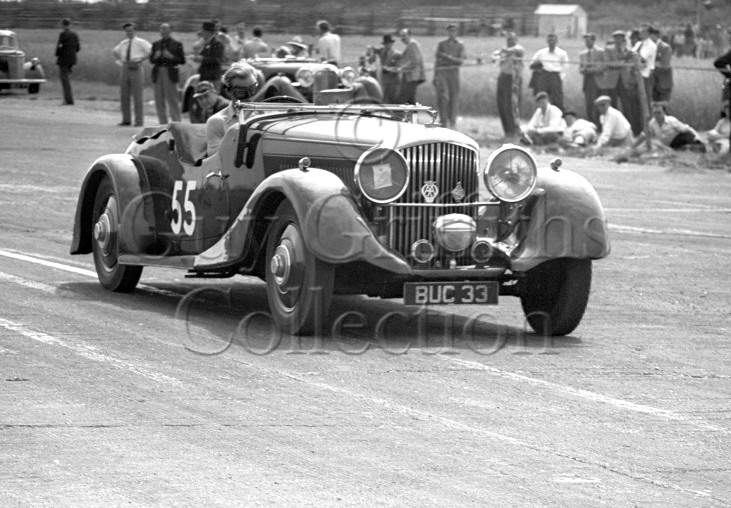 19-413–G-Maxwell–Bentley–Silverstone–23-07-1949.jpg - Guy Griffiths Collection