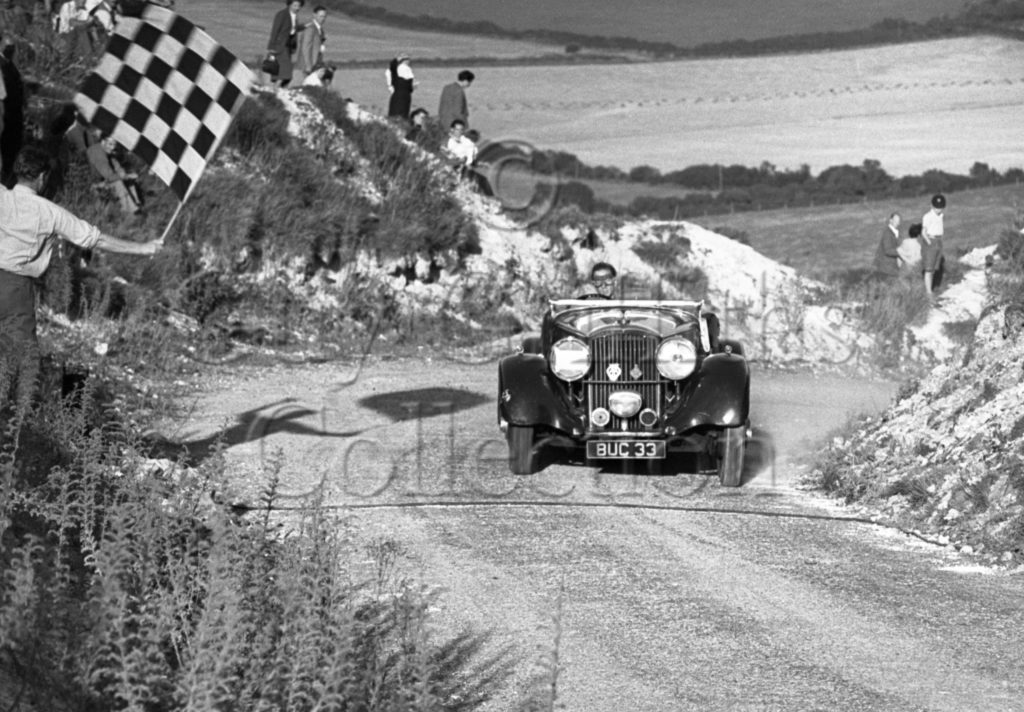 25-326–G-Maxwell–Bentley–Firle–25-09-1949.jpg - Guy Griffiths Collection