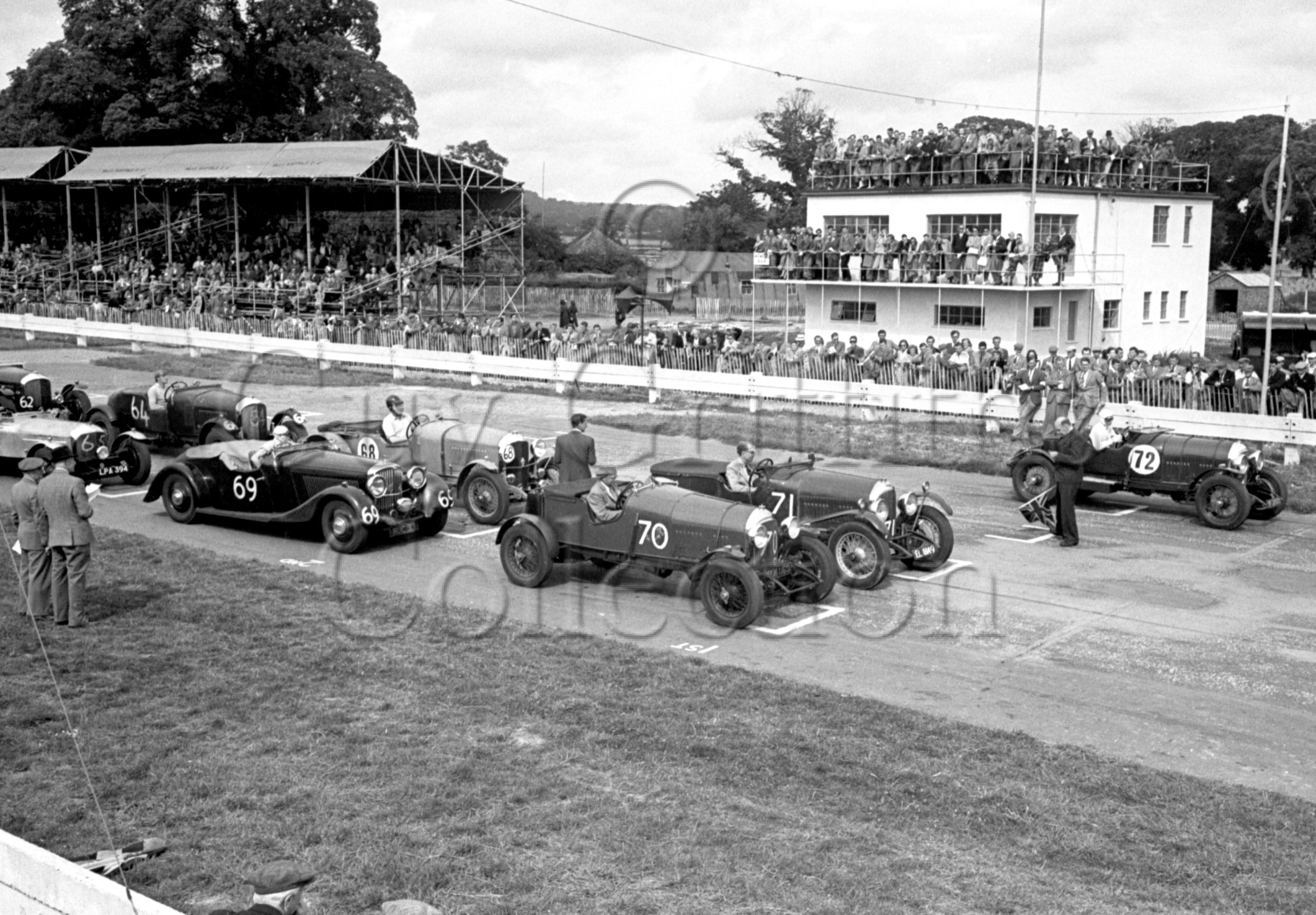 35-242–G-Maxwell–Bentley–Goodwood–12-08-1950.jpg - Guy Griffiths Collection