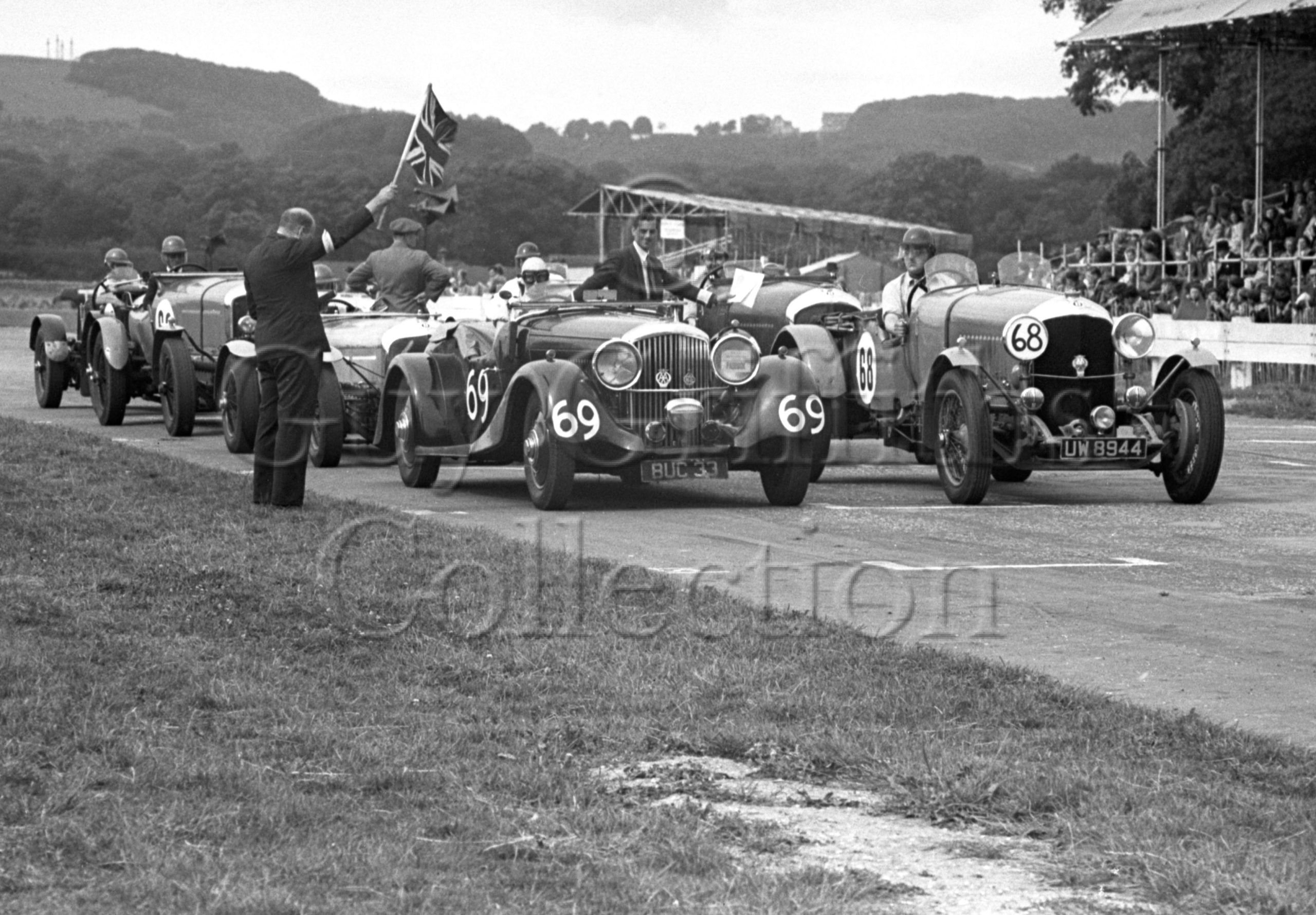 35-244–G-Maxwell–Bentley–Goodwood–12-08-1950.jpg - Guy Griffiths Collection
