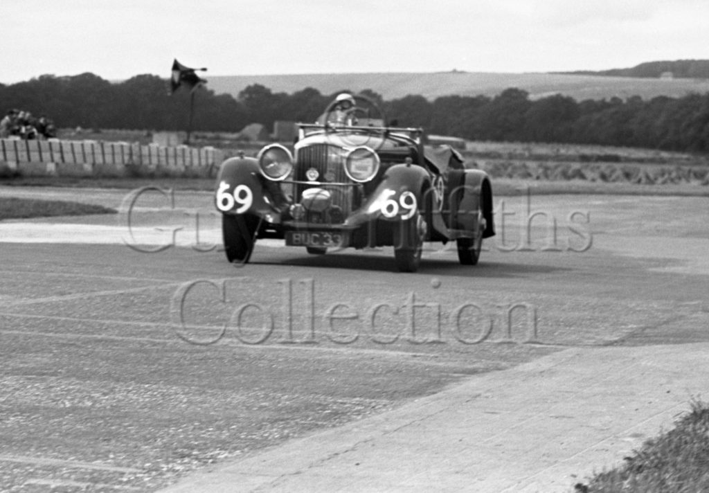 35-254–G-Maxwell–Bentley–Goodwood–12-08-1950.jpg - Guy Griffiths Collection