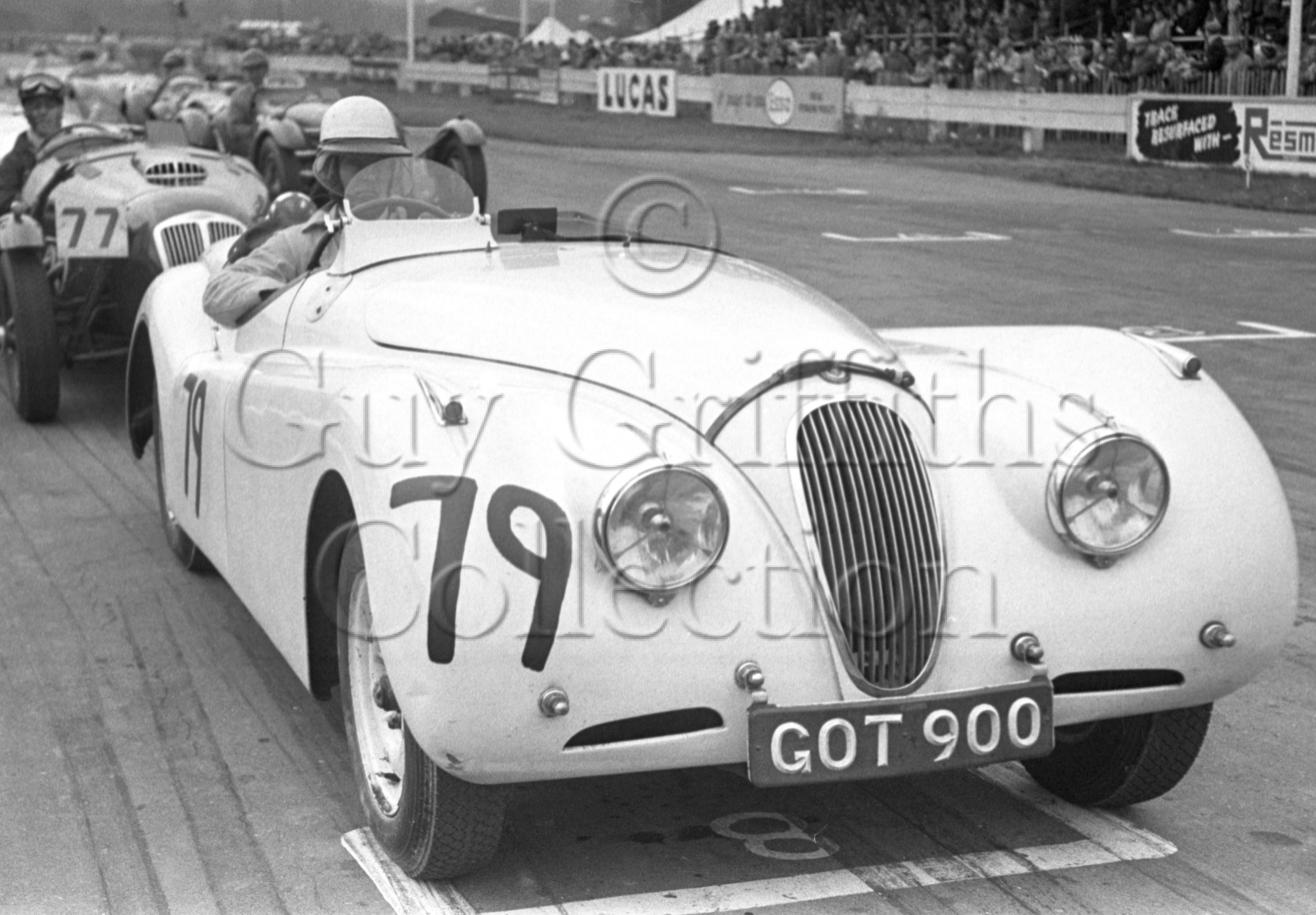 66-453–M-Head–Jaguar–Goodwood–06-04-1953.jpg - Guy Griffiths Collection