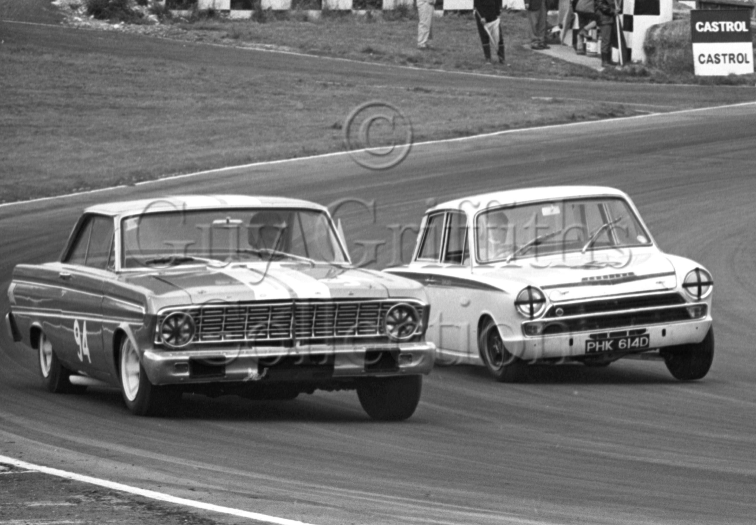 100-654–Sir-Gawaine-Baillie–Ford-Falcon–Brands-Hatch–16-07-1966.jpg - Guy Griffiths Collection