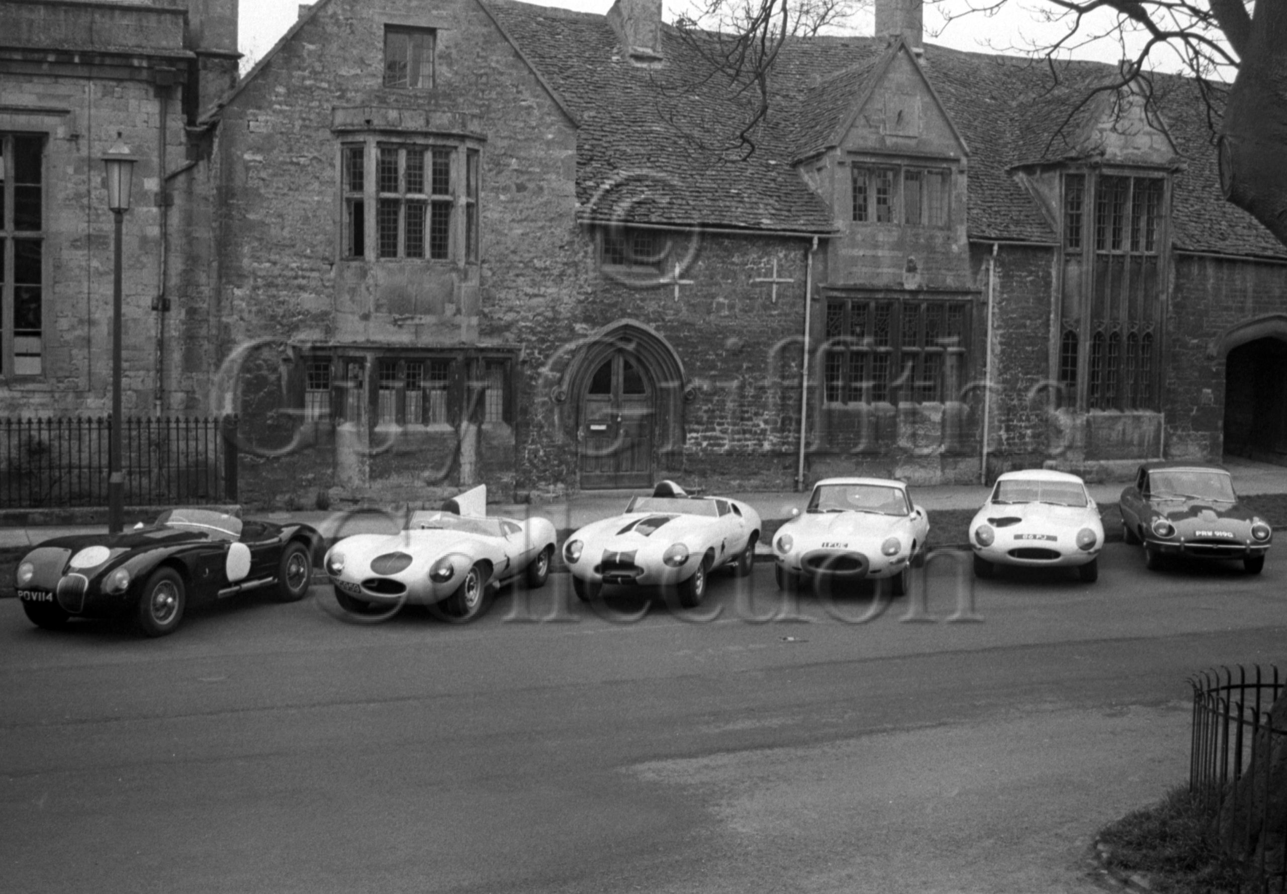 117-375–G-S-Griffiths–Jaguars–Chipping-Campden–04-05-1969.jpg - Guy Griffiths Collection