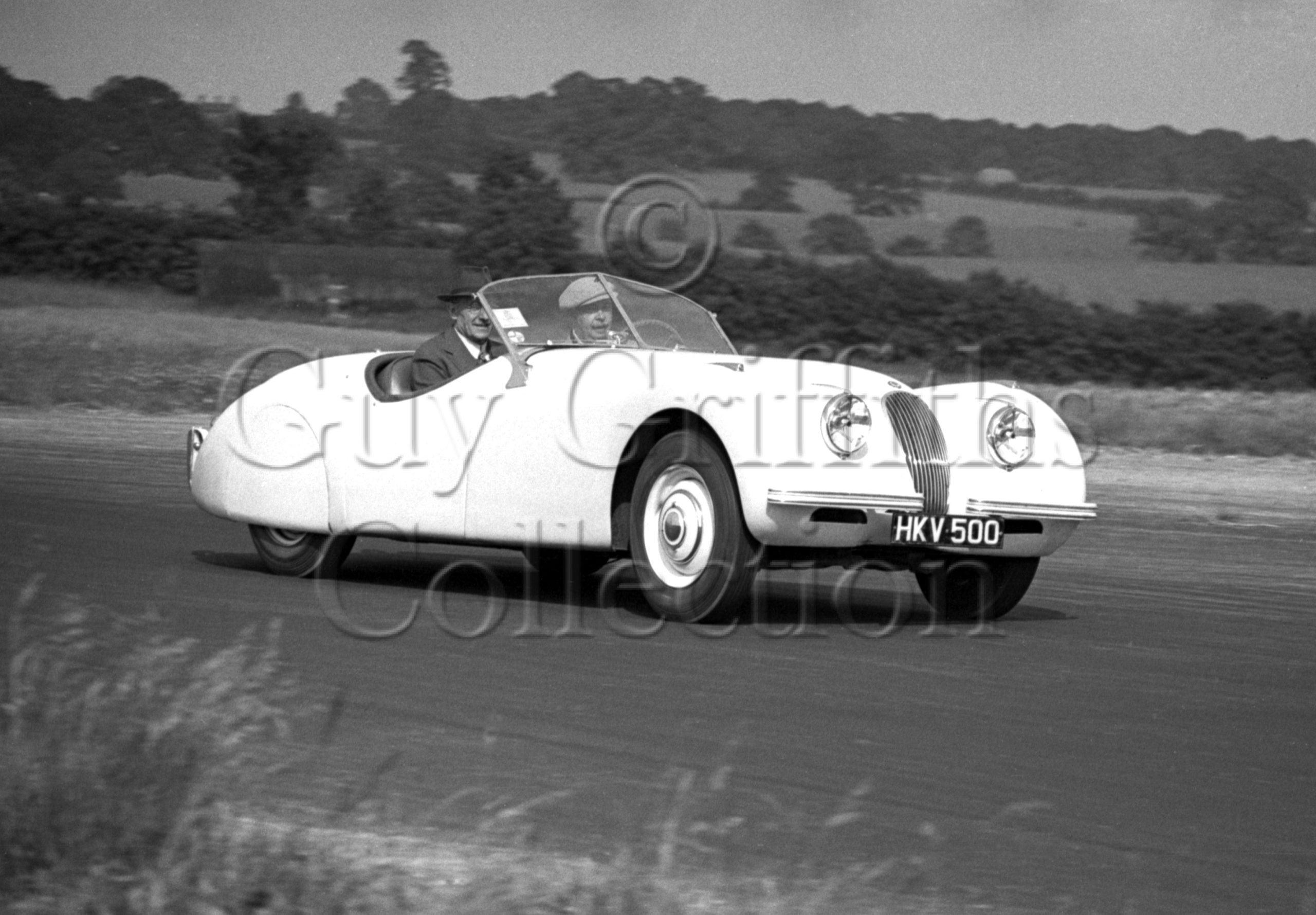 16-616–Jaguar–HKV-500–Silverstone–18-06-1949.jpg - Guy Griffiths Collection