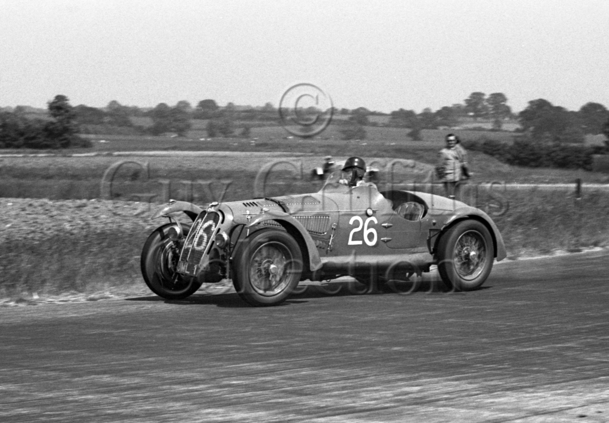 17-74–T-Crook–Alfa-Romeo–Silverstone–18-06-1949.jpg - Guy Griffiths Collection