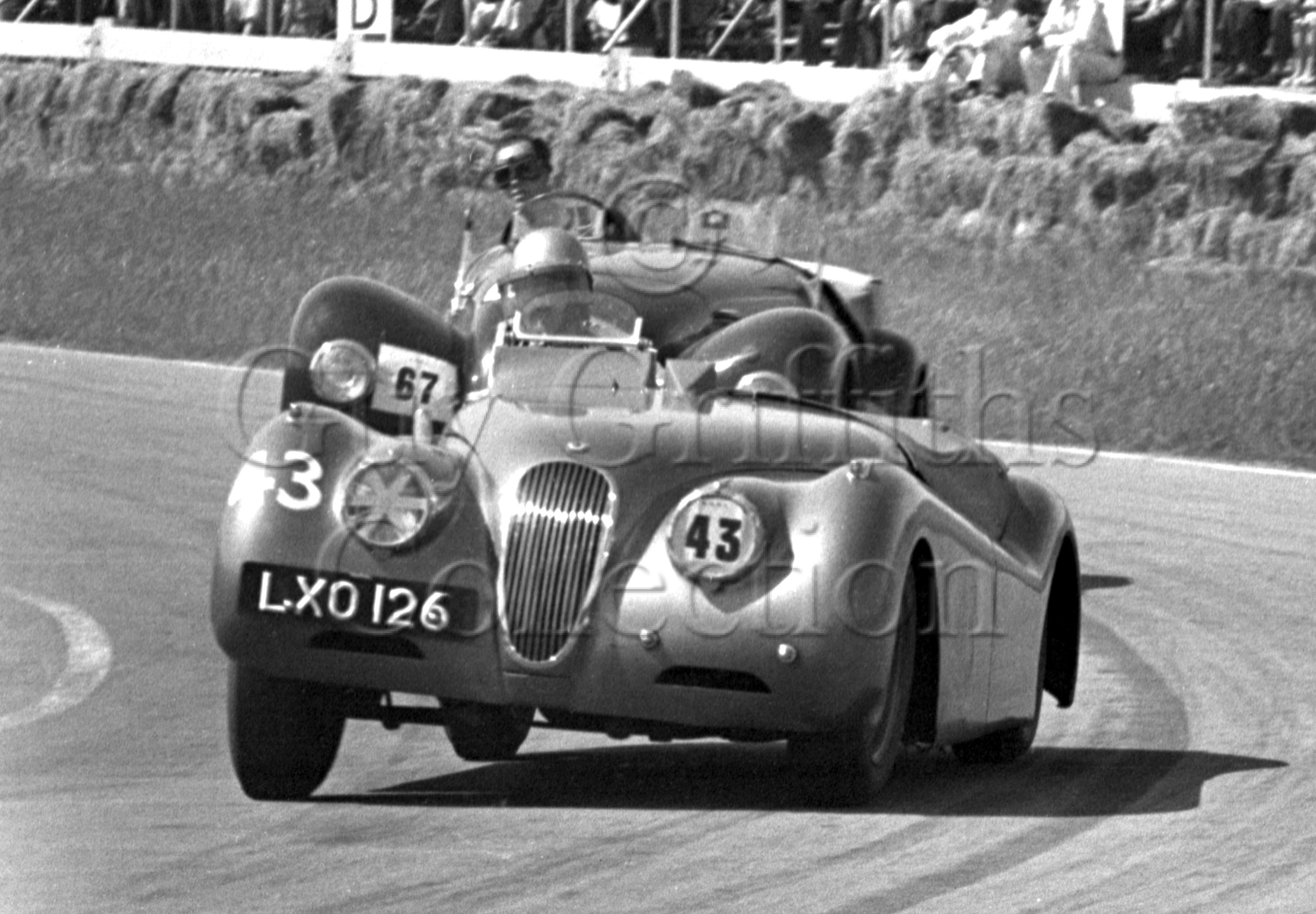 46-174–D-Pierpoint–Jaguar–LXO-126–Goodwood–16-06-1951.jpg - Guy Griffiths Collection