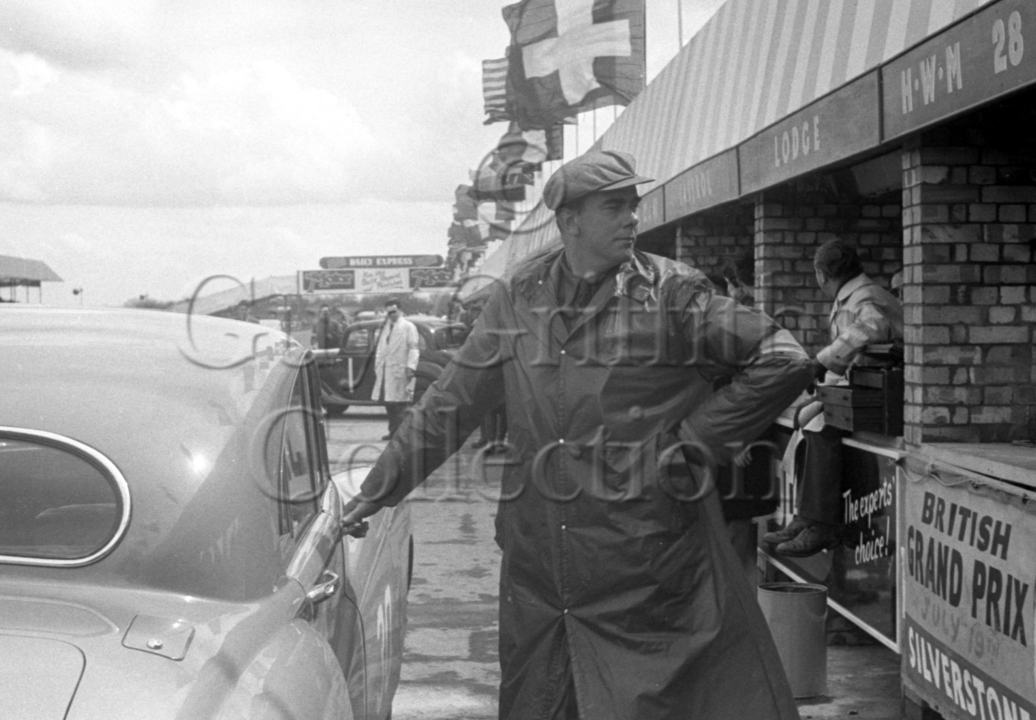 53-721–F-R-W-England–Jaguar-MK-V11–Silverstone–10-05-1952.jpg - Guy Griffiths Collection