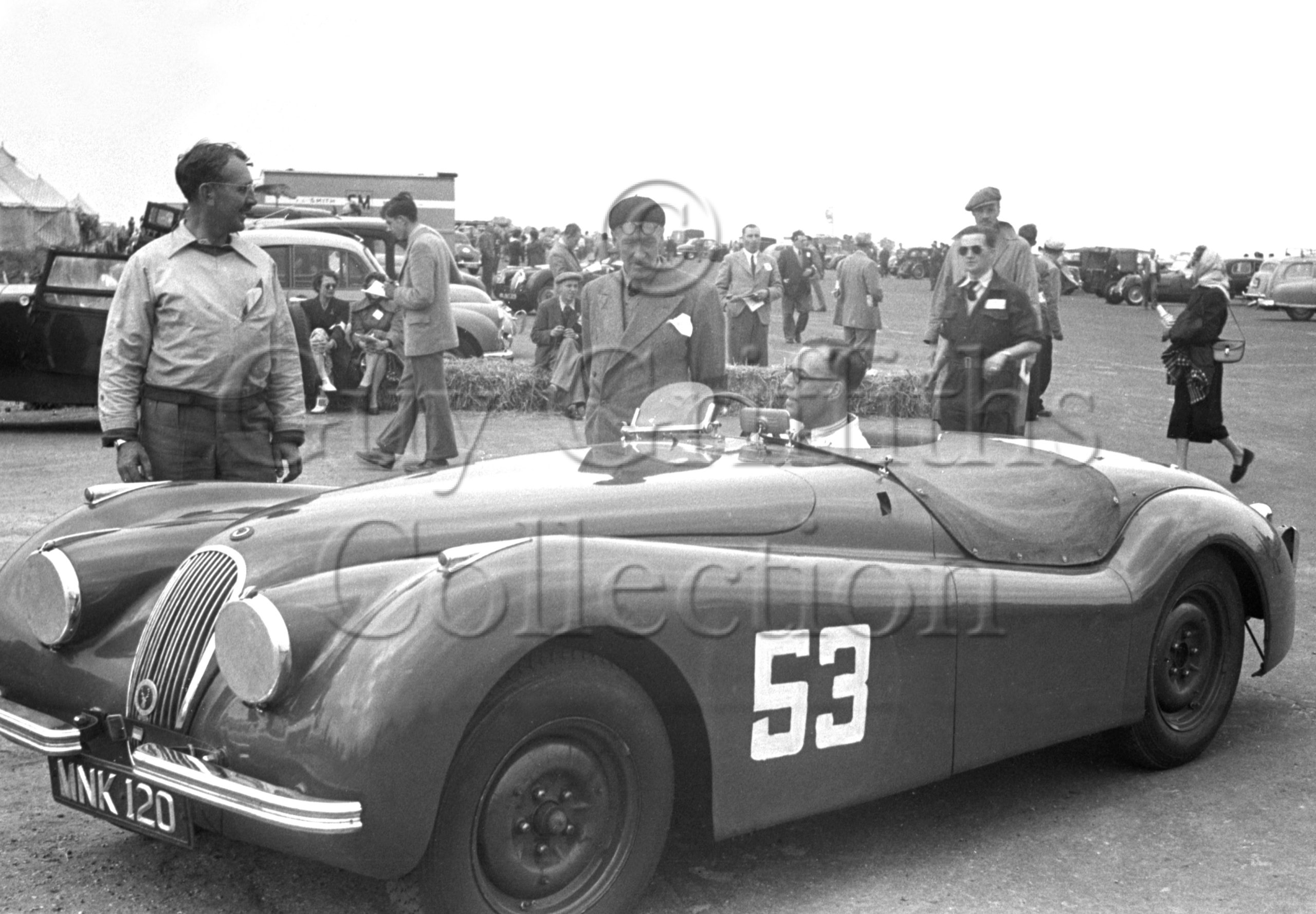56-316–D-Russell–Jaguar–Boreham–21-06-1952.jpg - Guy Griffiths Collection