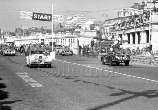 60-865–M-Levy–Jaguar-XK-120-AJK-48–Brighton–06-09-1952.jpg - Guy Griffiths Collection