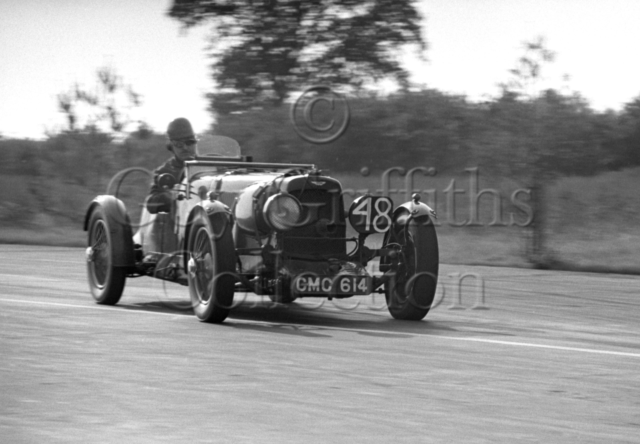 61-966–R-F-McNab-Meredith–Aston-Martin-CMC-614–Snetterton–20-09-1952.jpg - Guy Griffiths Collection