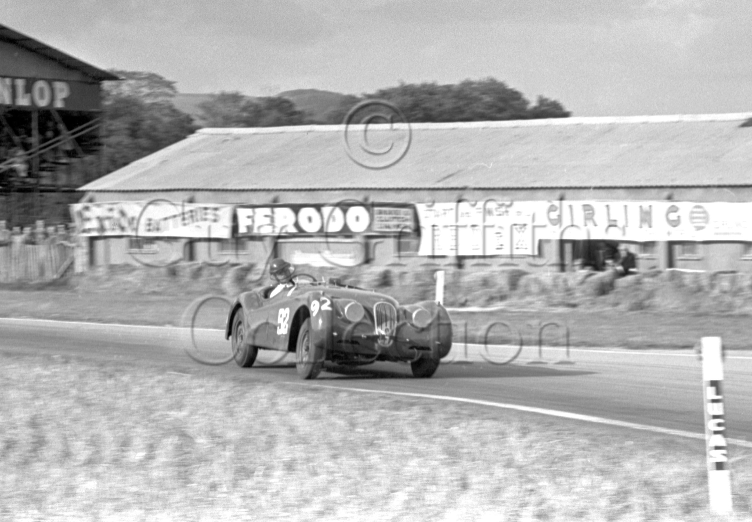 62-722–D-Russell–Jaguar–Goodwood–27-09-1952.jpg - Guy Griffiths Collection