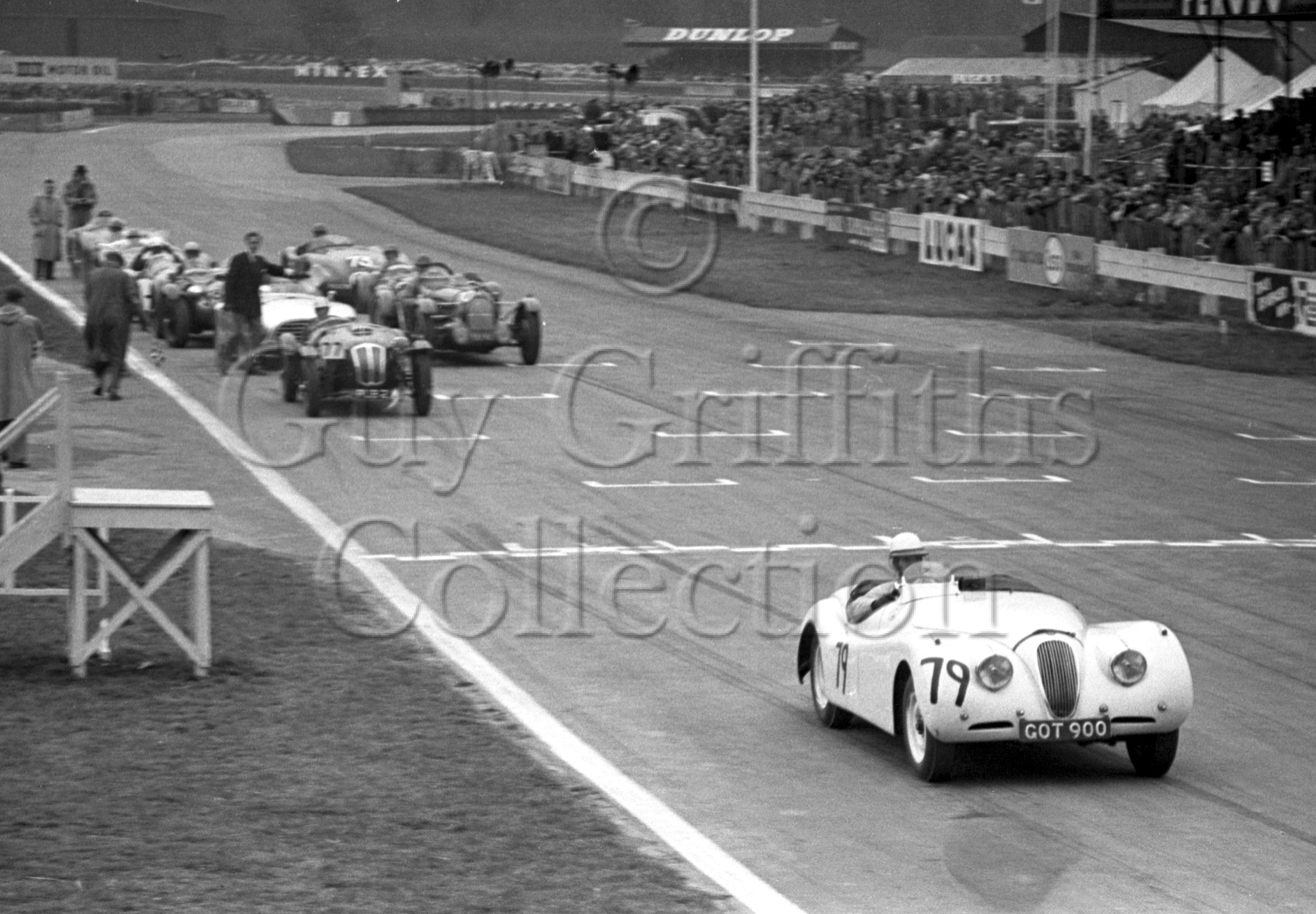 66-643–M-Head–Jaguar–Goodwood–06-04-1953.jpg - Guy Griffiths Collection