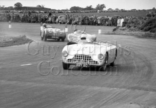 70-835–E-Thompson–Aston-Martin-DB3–Snetterton–30-05-1953.jpg - Guy Griffiths Collection