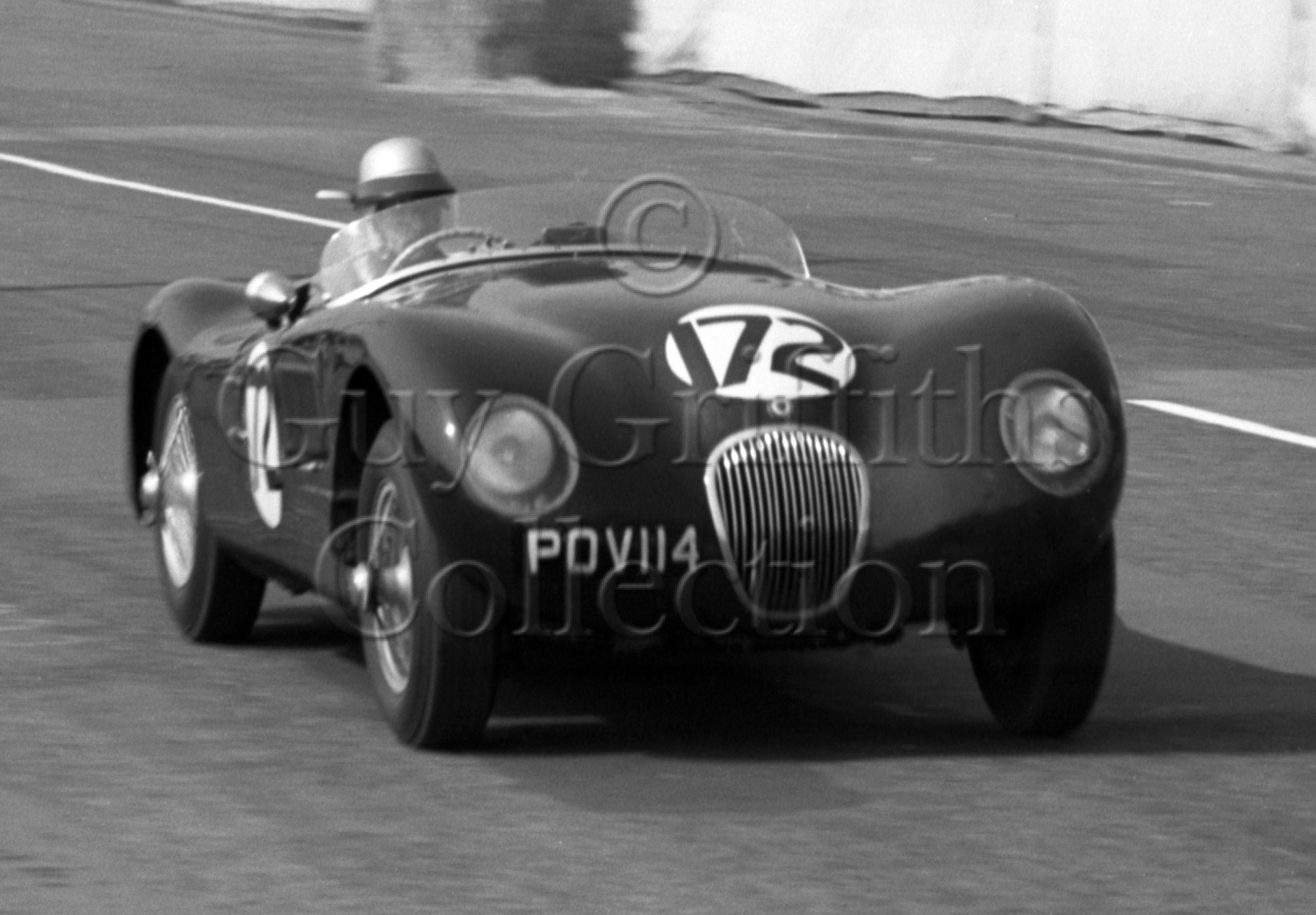 79-346–G-S-Griffiths–Jaguar-C-Type–Brighton–14-09-1963.jpg - Guy Griffiths Collection