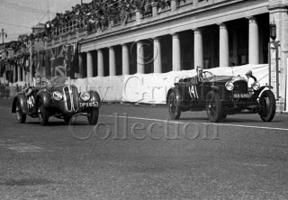 06-122–S-Moss–BMW–A-May–Vauxhall-30-98–Brighton–01-09-1947.jpg - Guy Griffiths Collection