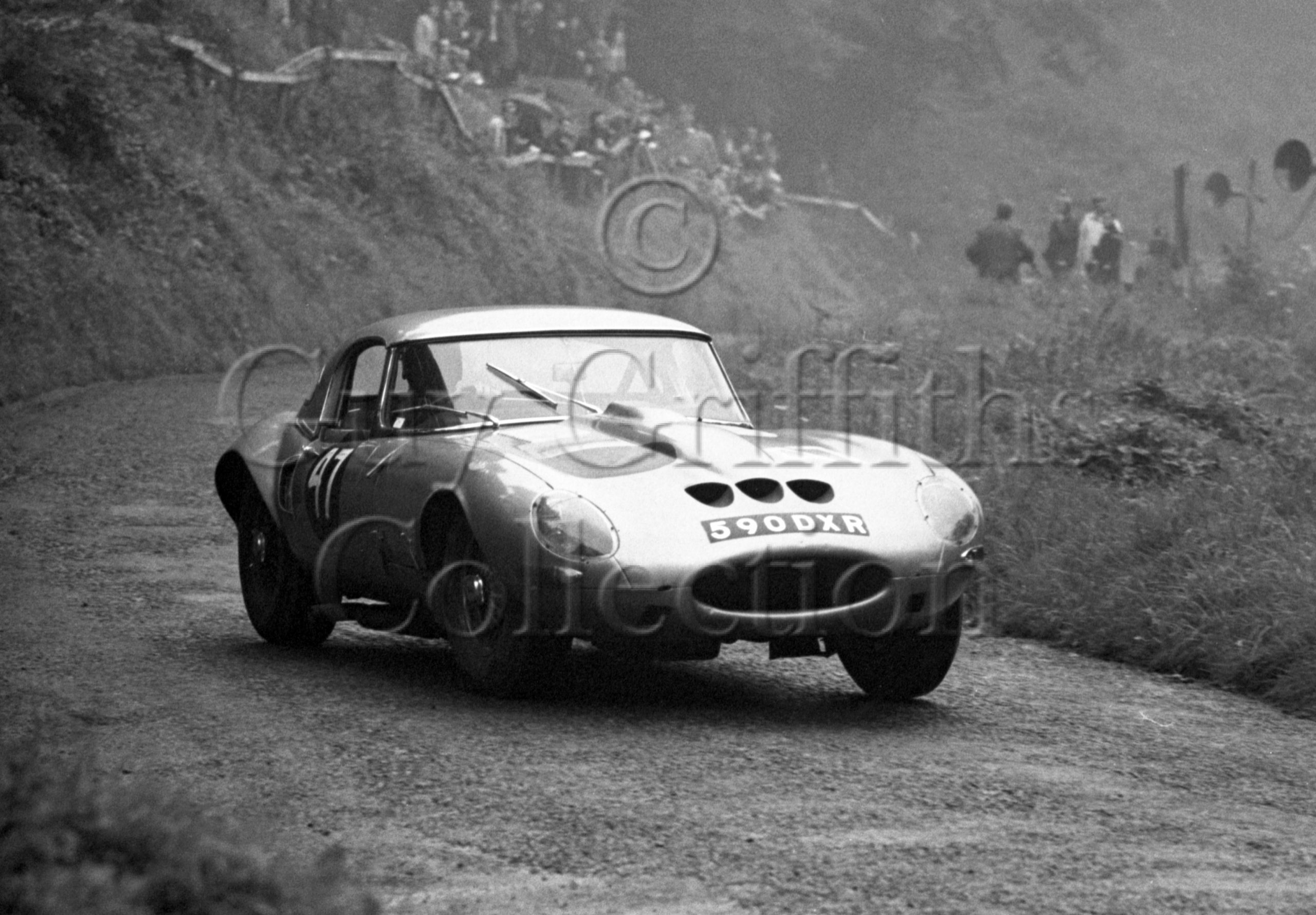 102-172–R-B-Beck–Jaguar-Egal–590-DXR–Shelsley-Walsh–21-08-1966.jpg - Guy Griffiths Collection