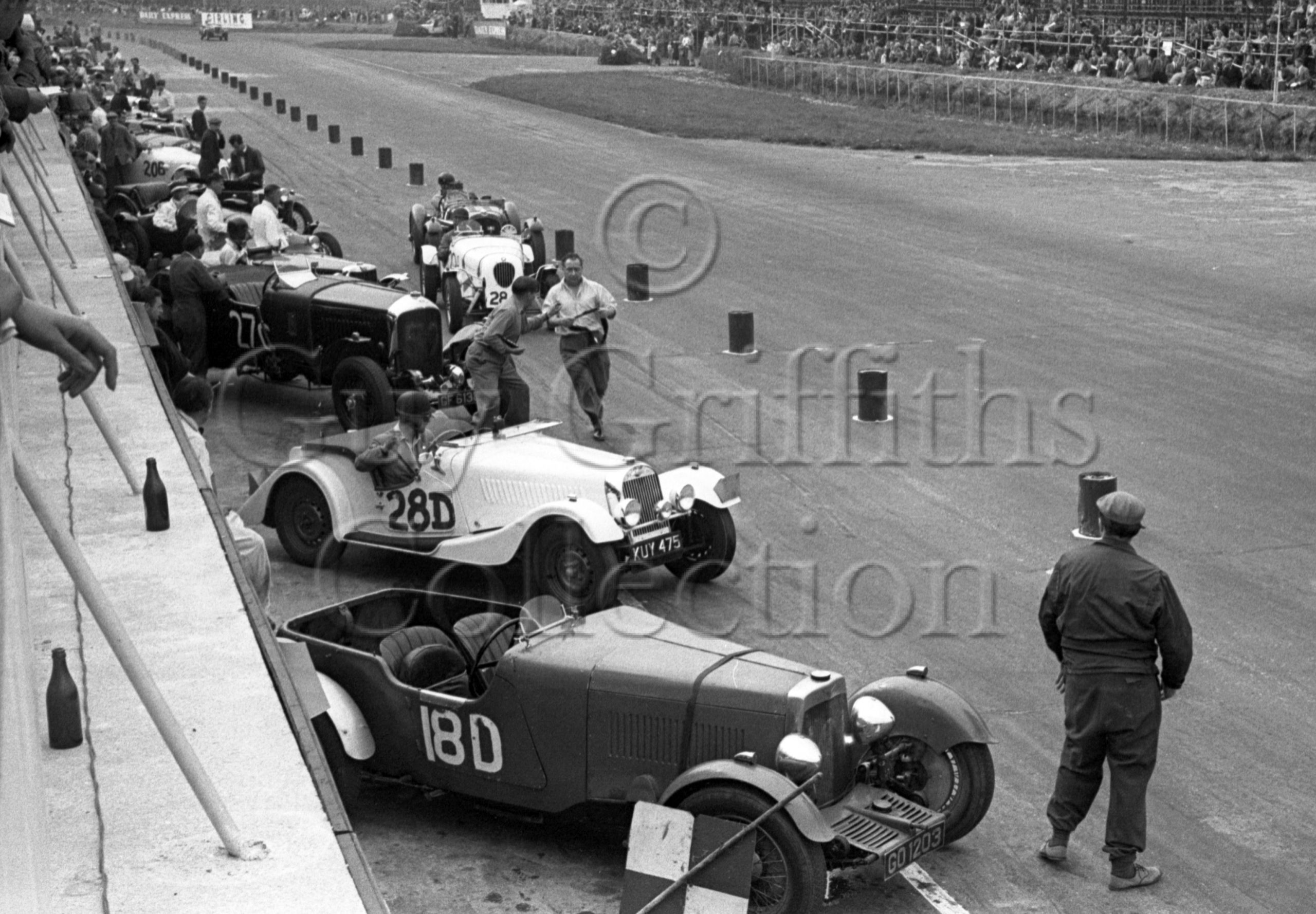 60-244–P-B-Reece–Morgan-Plus-4-KUY-475–Silverstone–30-08-1952.jpg - Guy Griffiths Collection