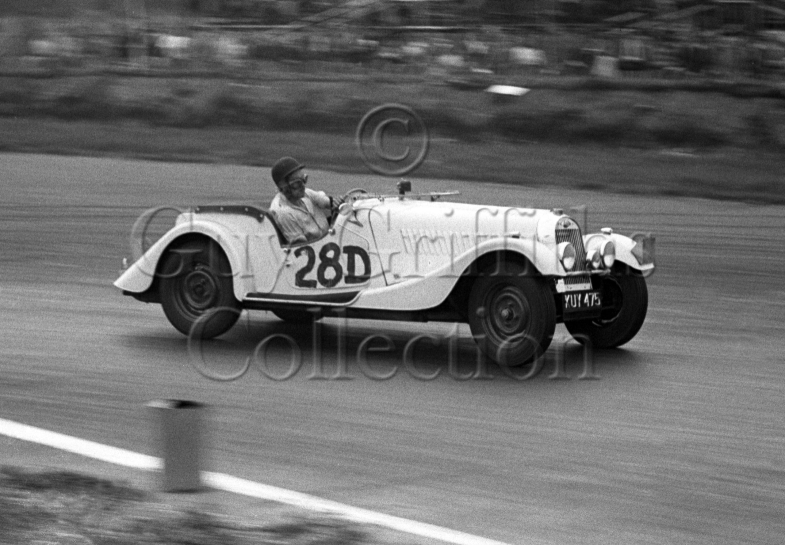 60-725–P-B-Reece–Morgan-Plus-4-KUY-475–Silverstone–30-08-1952.jpg - Guy Griffiths Collection