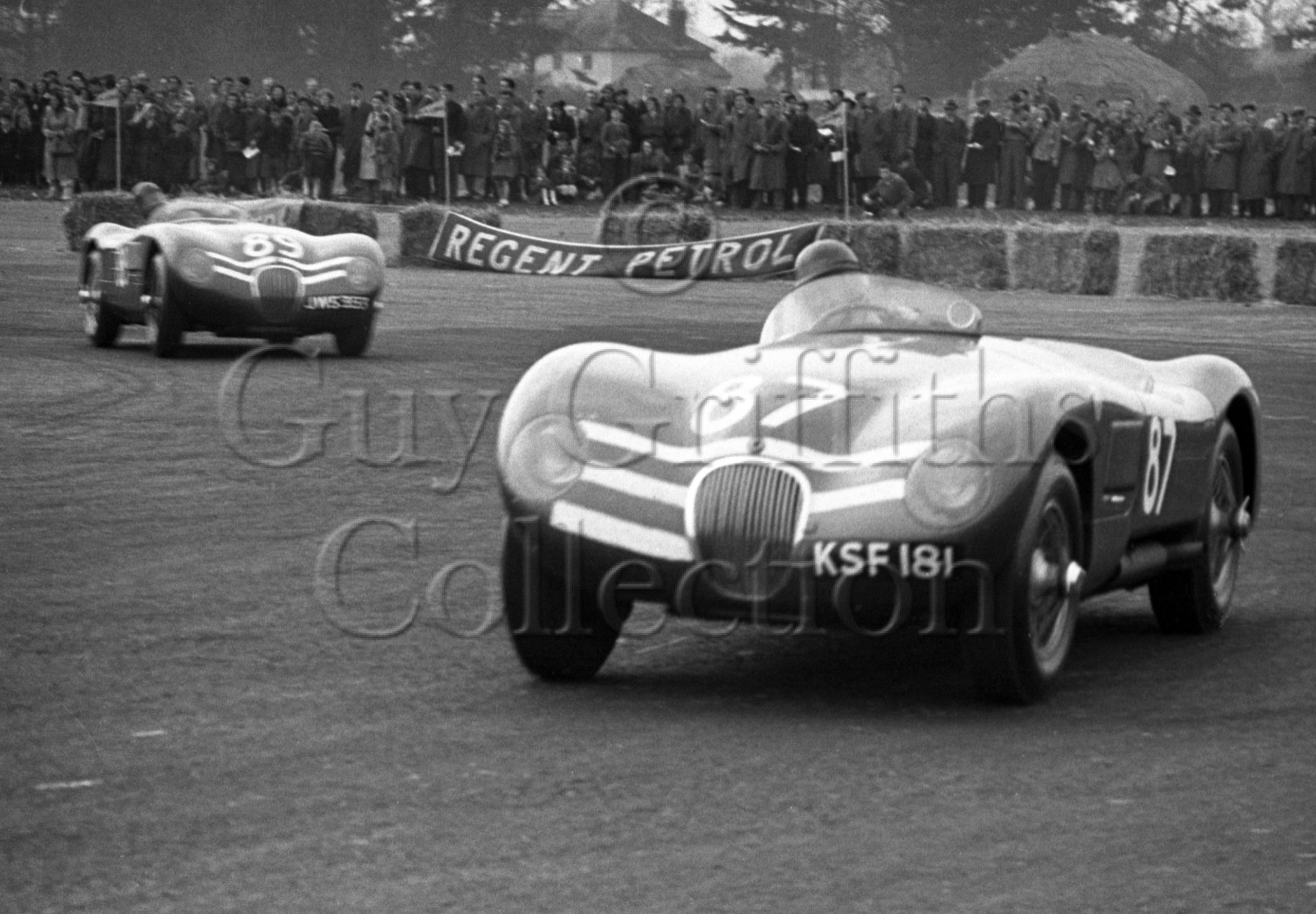 67-271–J-R-Stewart–Ecurie-Ecosse-Jaguar-C-Type-JWS-353–No-89–Ibsley–18-04-1953.jpg - Guy Griffiths Collection
