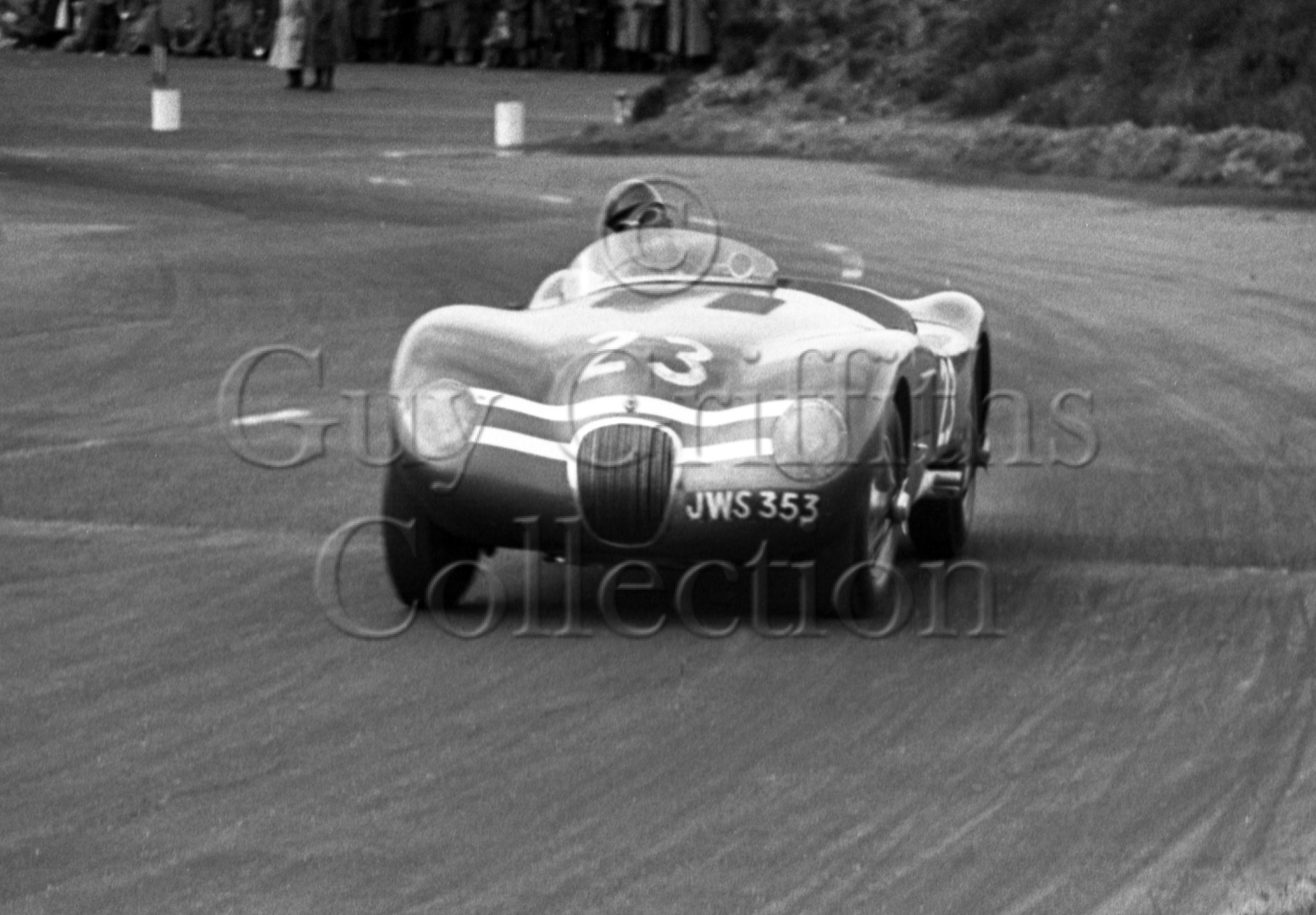 70-864–J-R-Stewart–Ecurie-Ecosse-Jaguar-C-Type-JWS-353–No-23–Snetterton–30-05-1953.jpg - Guy Griffiths Collection
