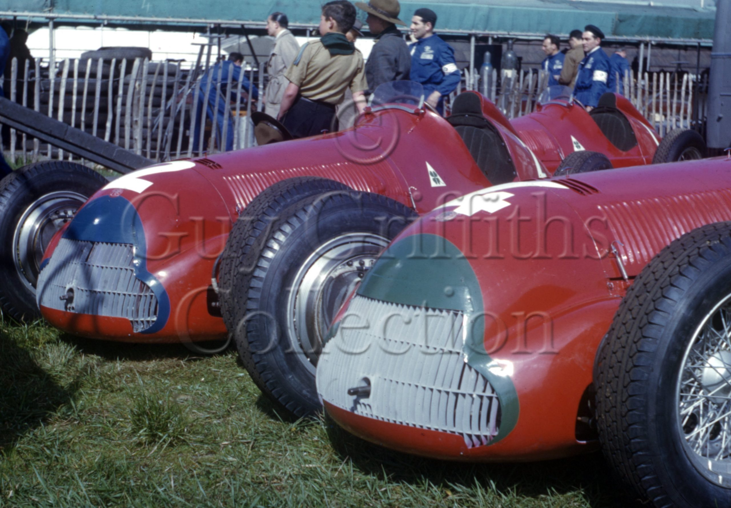 C-3-4–Alfa-Romeo-158–Silverstone–13-05-1950-(1).jpg - Guy Griffiths Collection