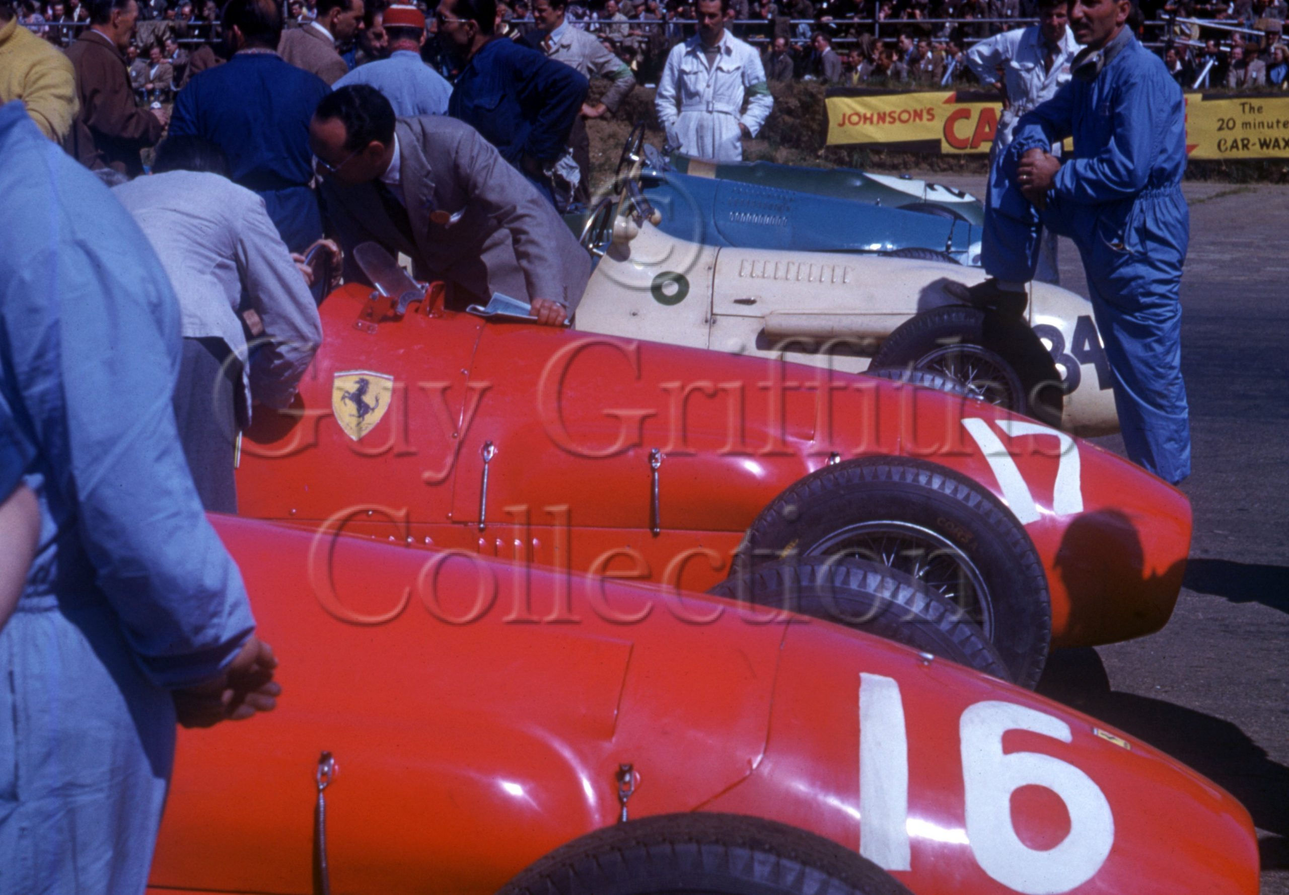 C-3-58–Ferraris–Silverstone–19-07-1952.jpg - Guy Griffiths Collection