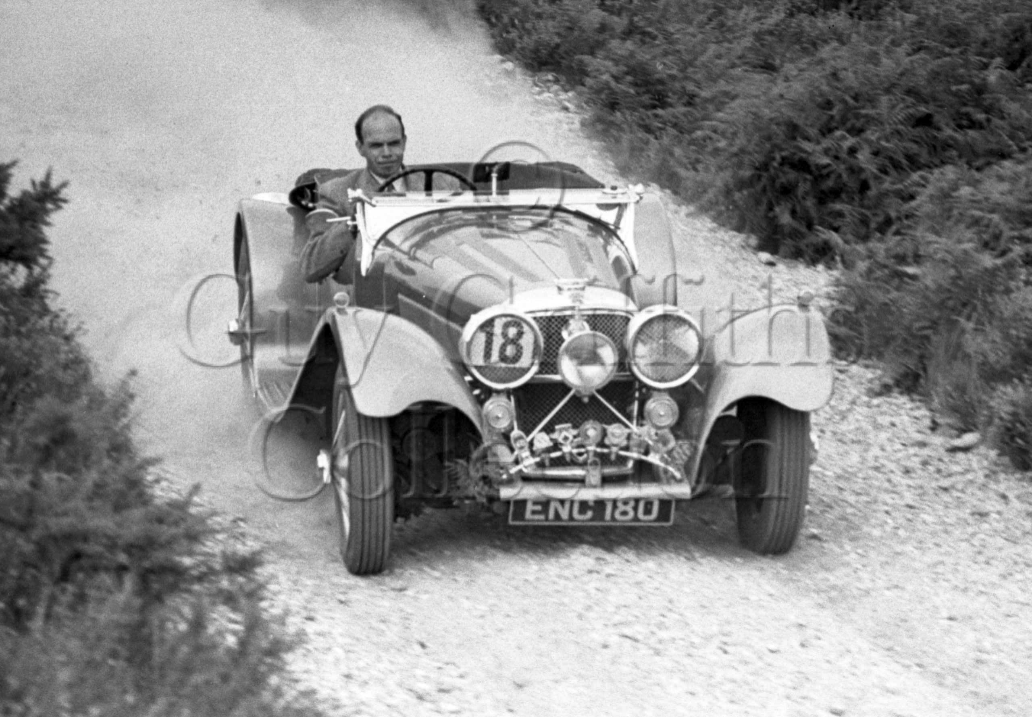 05-656–G-E-Matthews–Jaguar–Cockley-Hill–10-08-1947.jpg - Guy Griffiths Collection